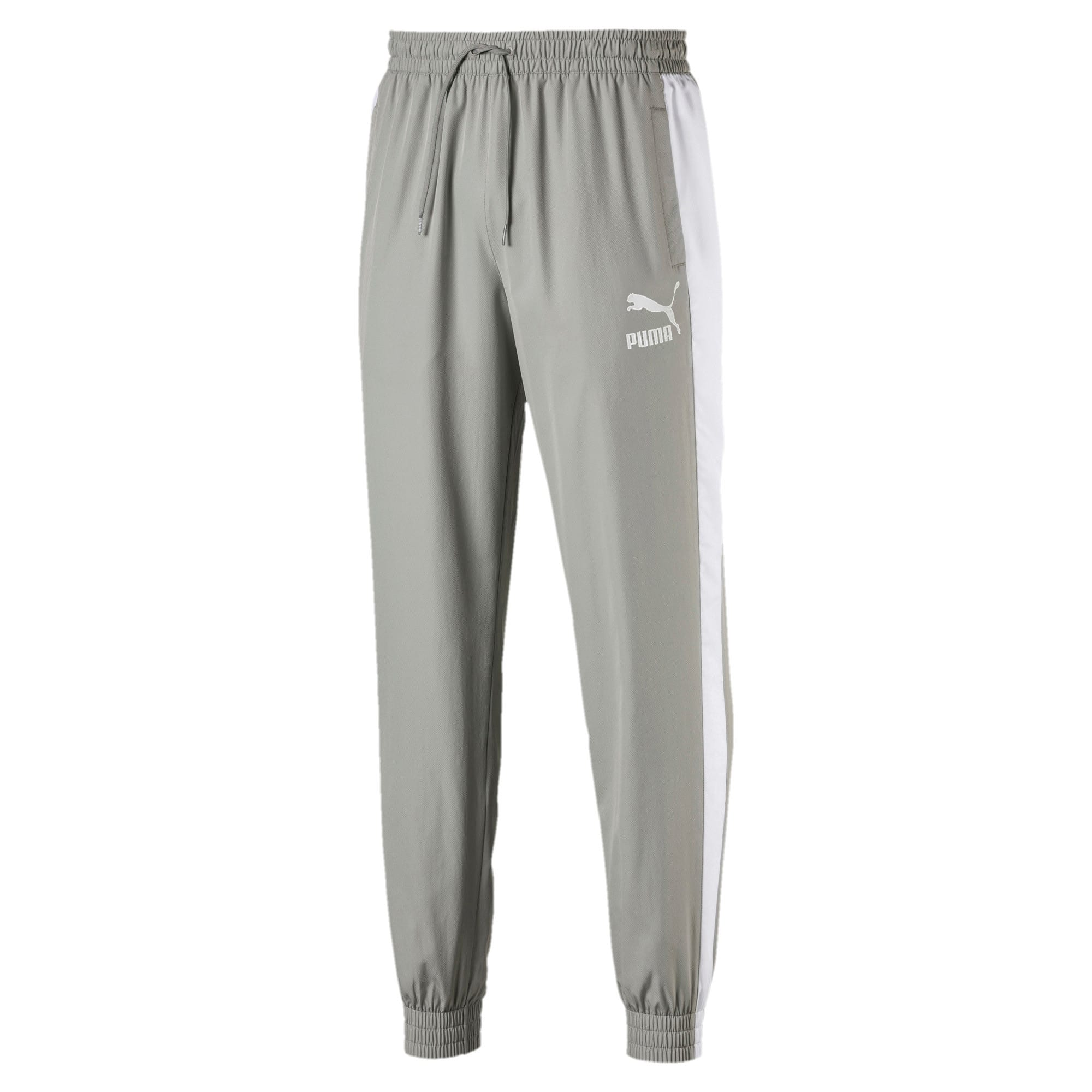 Thumbnail 1 of Iconic T7 Woven Men's Sweatpants, Limestone, medium-IND