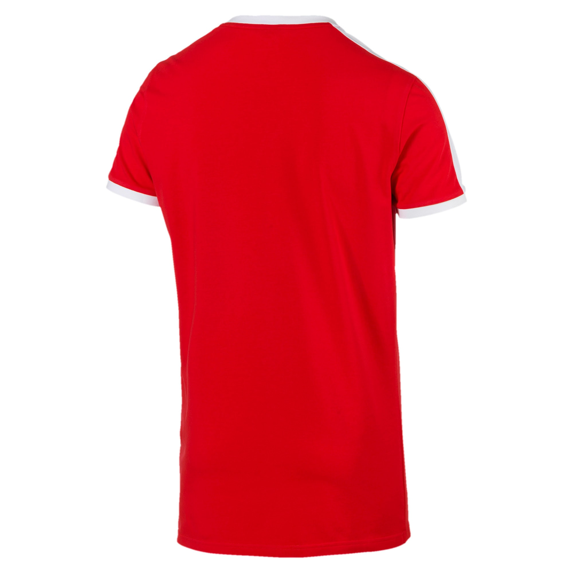 Thumbnail 5 of Iconic T7 Slim Men's Tee, High Risk Red, medium-IND