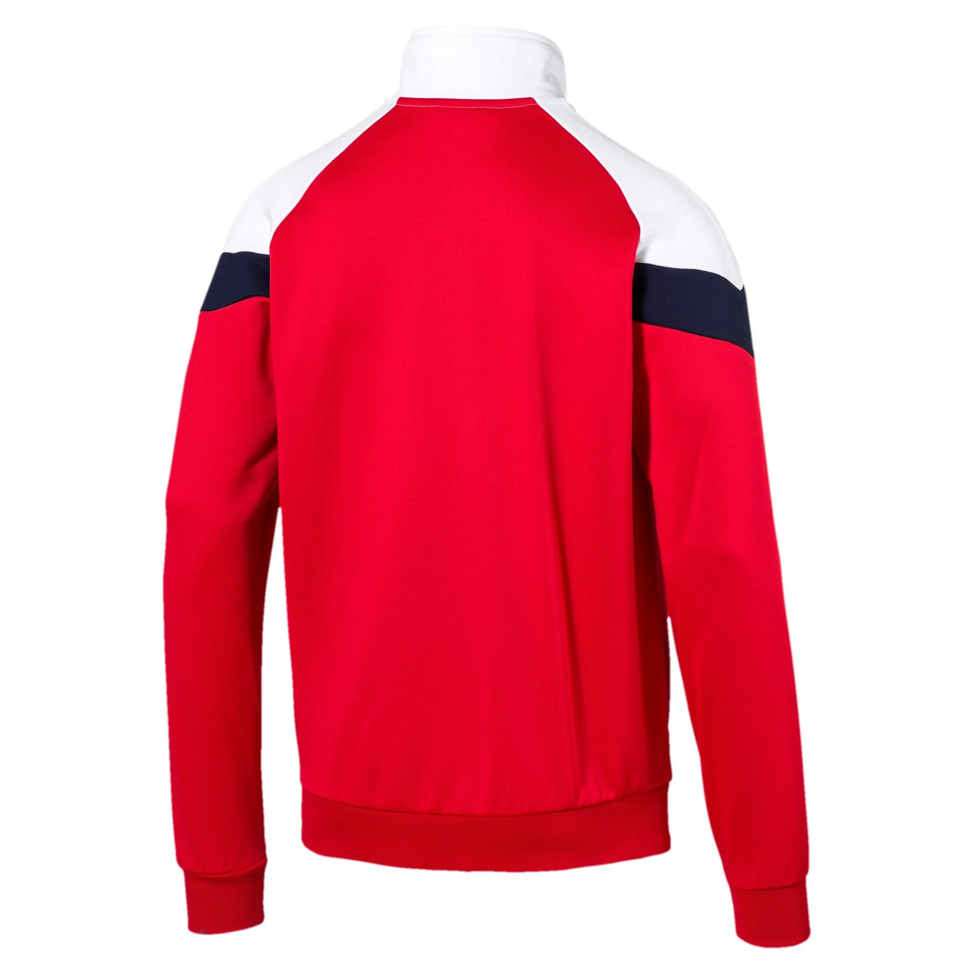 Thumbnail 4 of Iconic MCS Men's Track Jacket, High Risk Red, medium