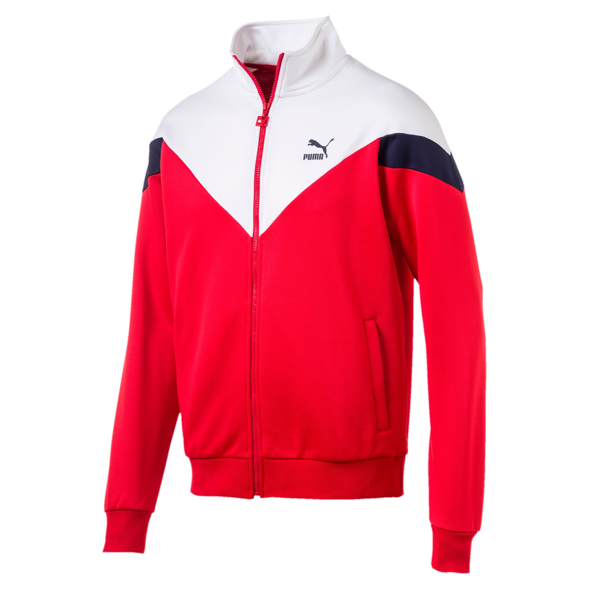 Thumbnail 1 of Iconic MCS Men's Track Jacket, High Risk Red, medium