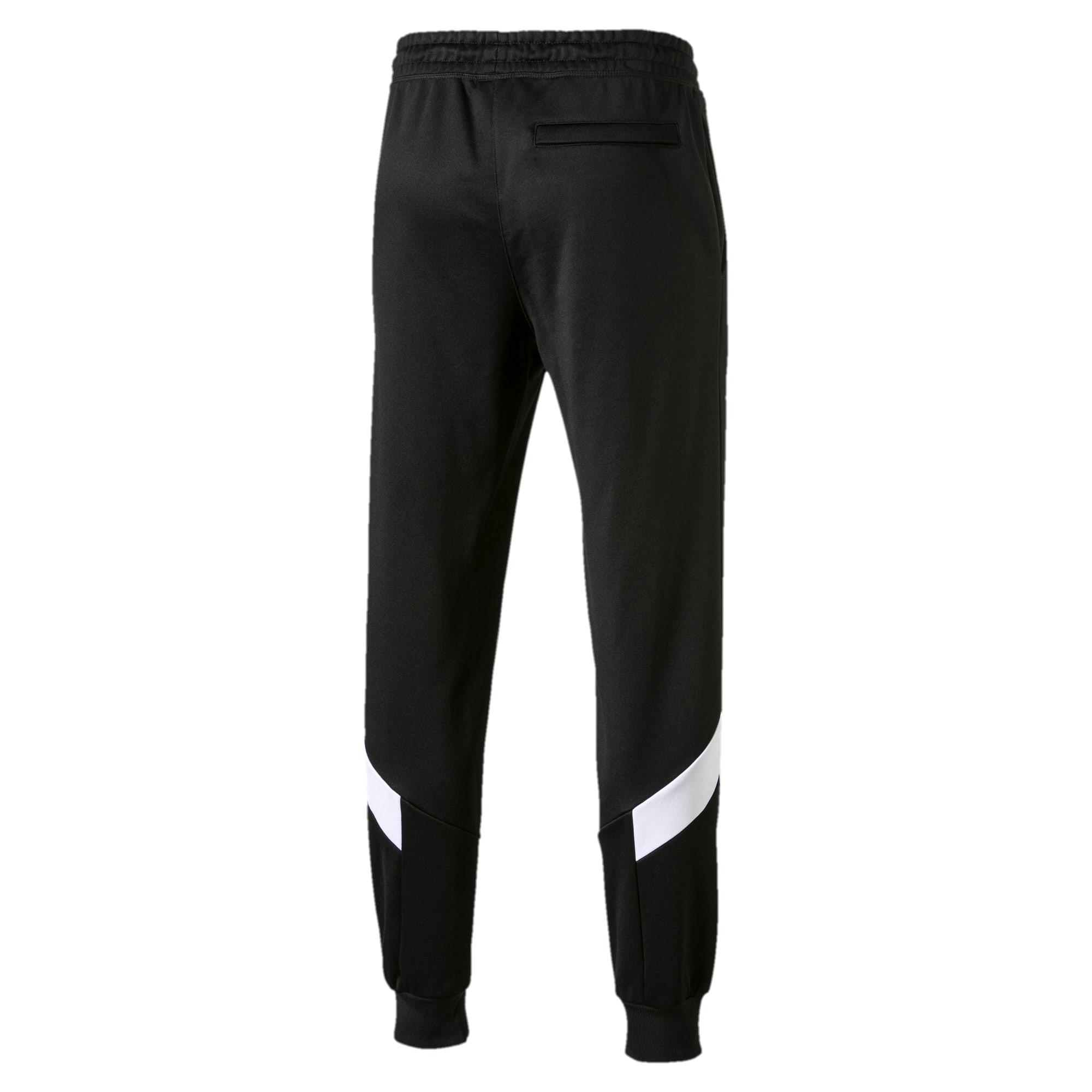 Thumbnail 4 of Iconic MCS Men's Track Pants, Puma Black -1, medium