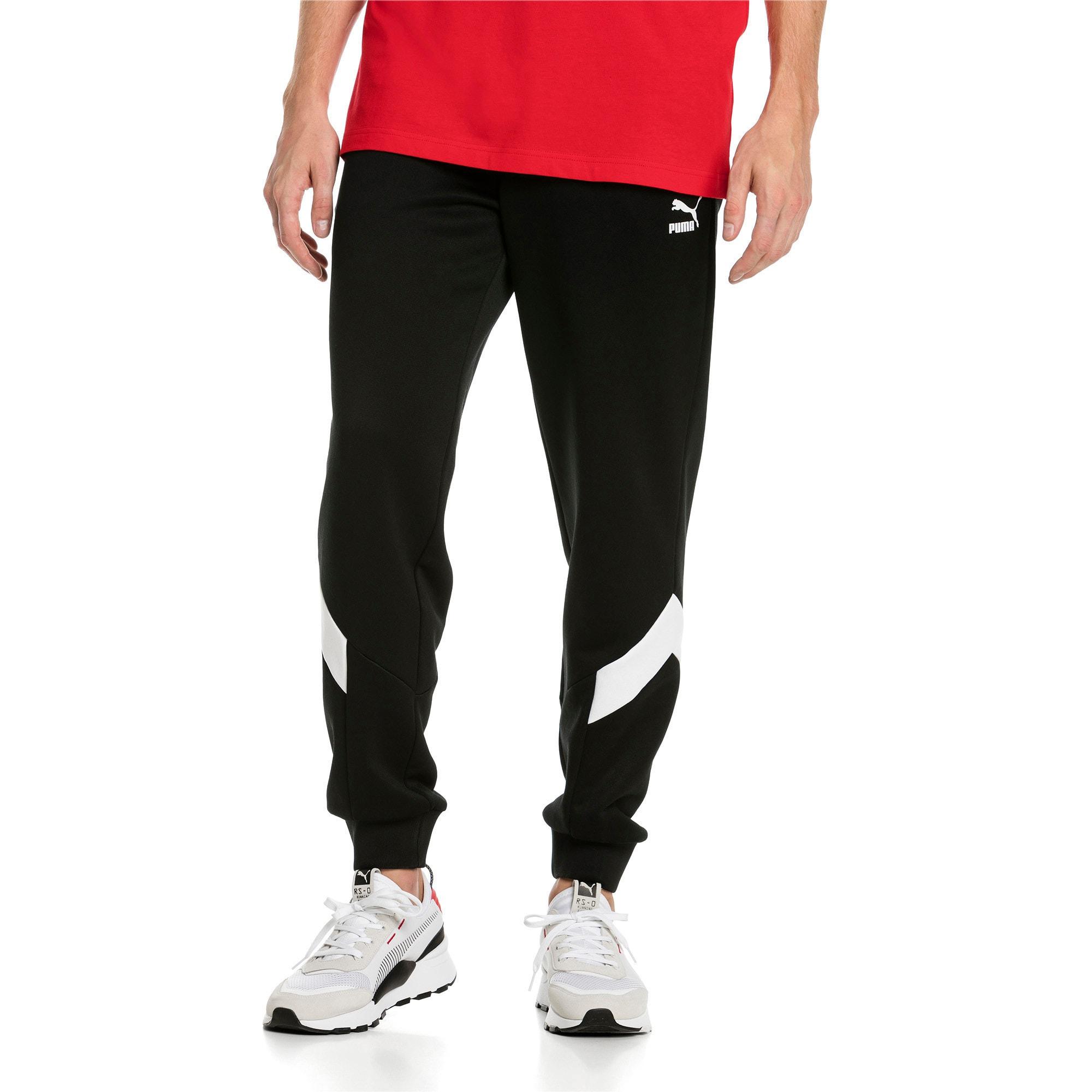 Thumbnail 2 of Iconic MCS Men's Track Pants, Puma Black -1, medium