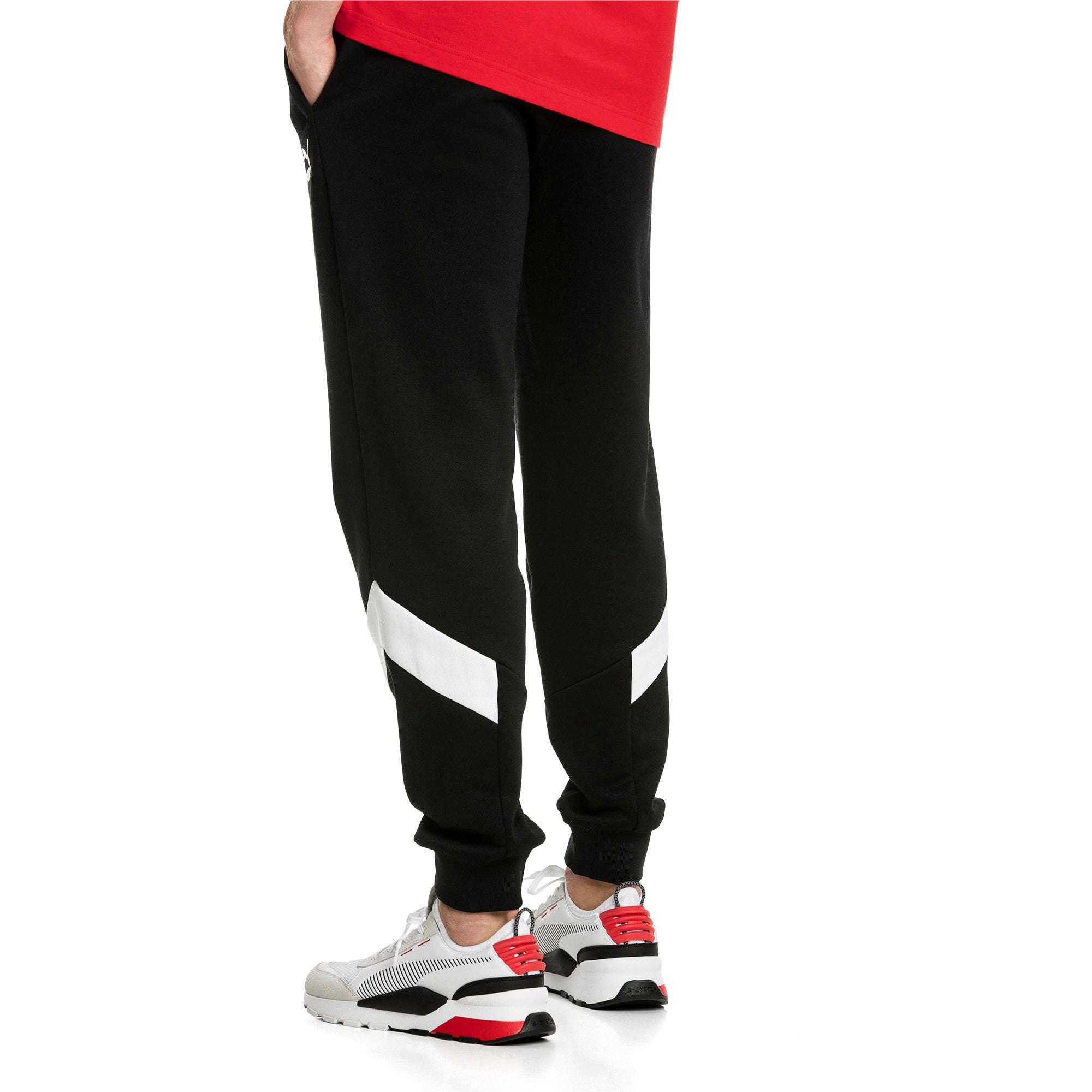 Thumbnail 3 of Iconic MCS Men's Track Pants, Puma Black -1, medium