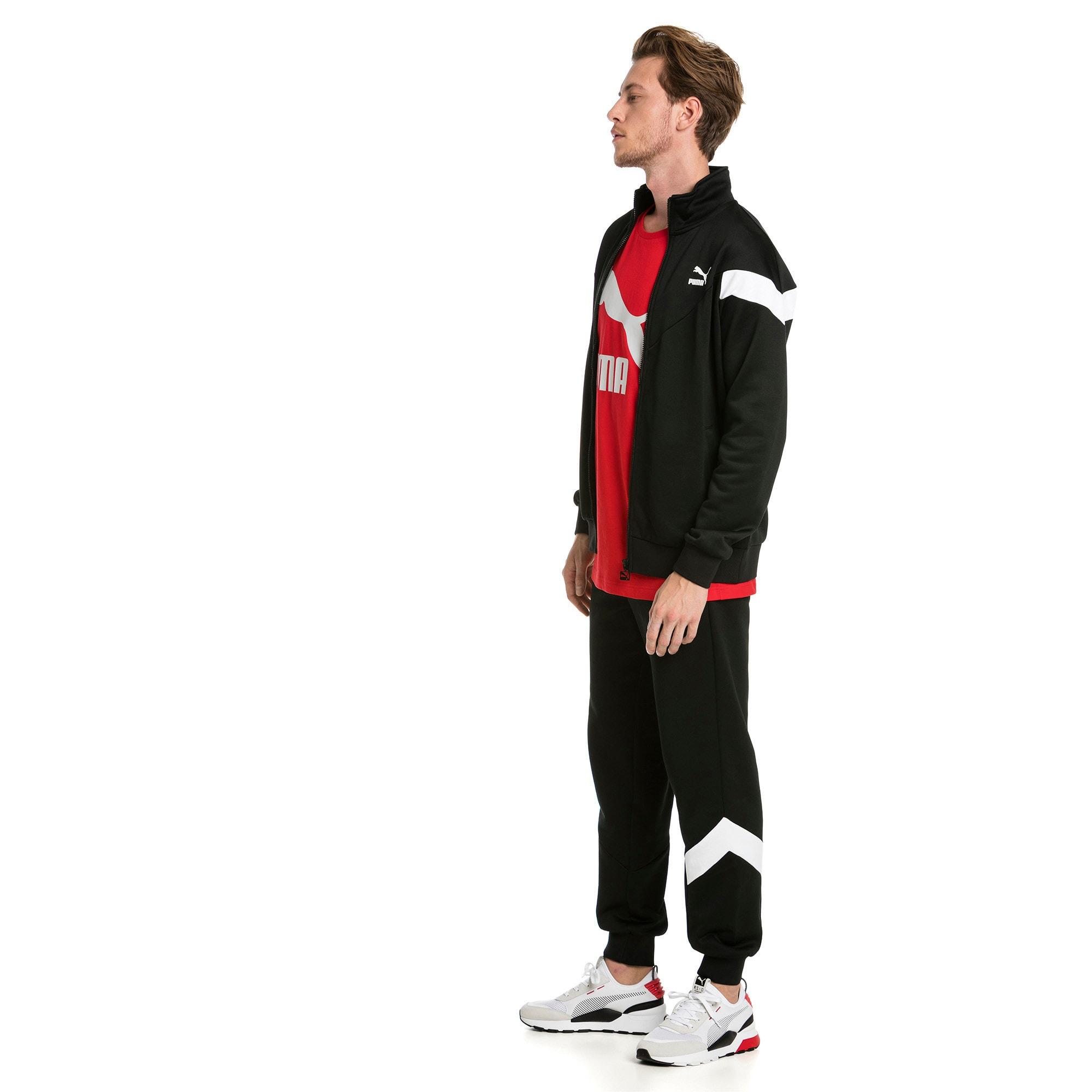 Thumbnail 5 of Iconic MCS Men's Track Pants, Puma Black -1, medium