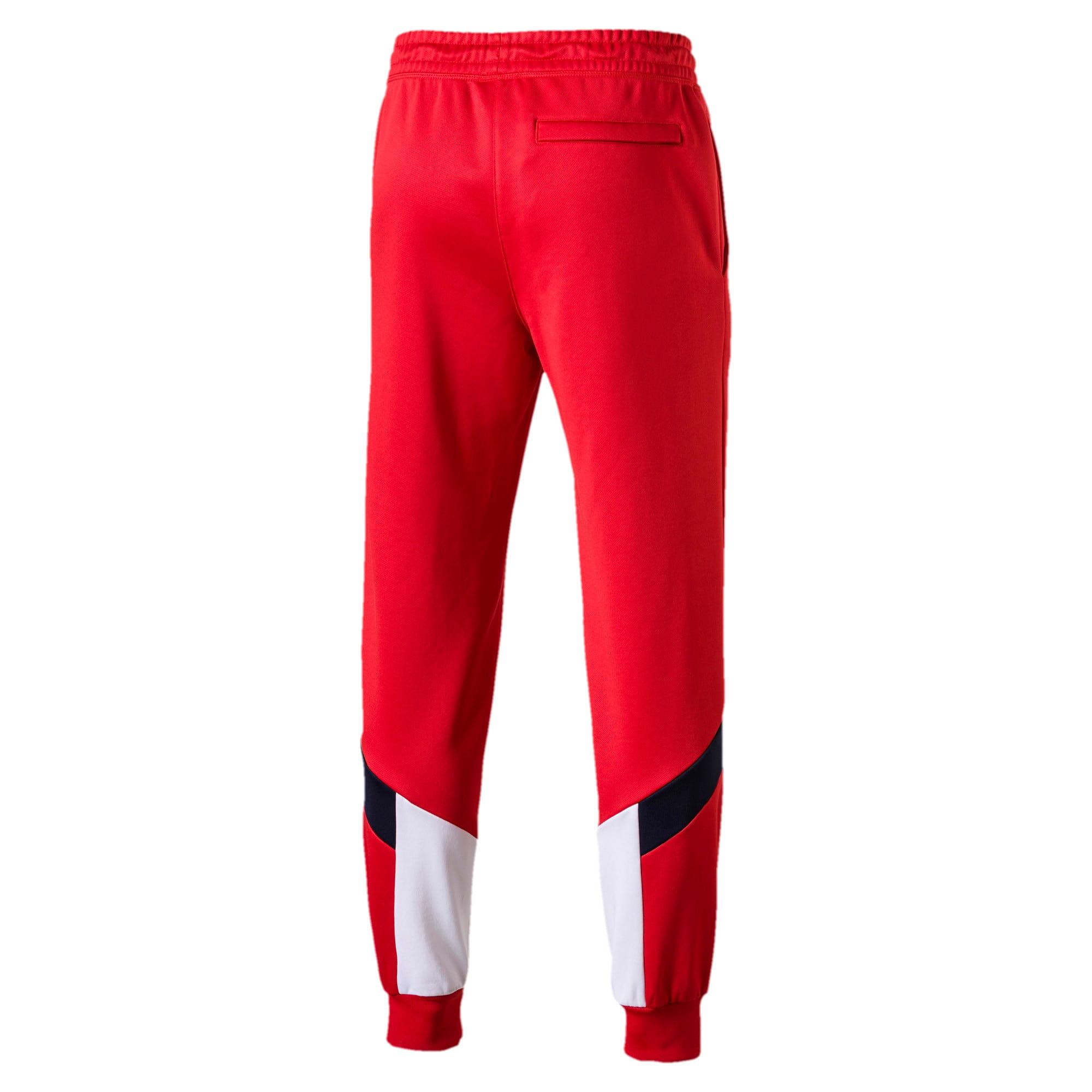 Thumbnail 4 of Iconic MCS Men's Track Pants, High Risk Red, medium