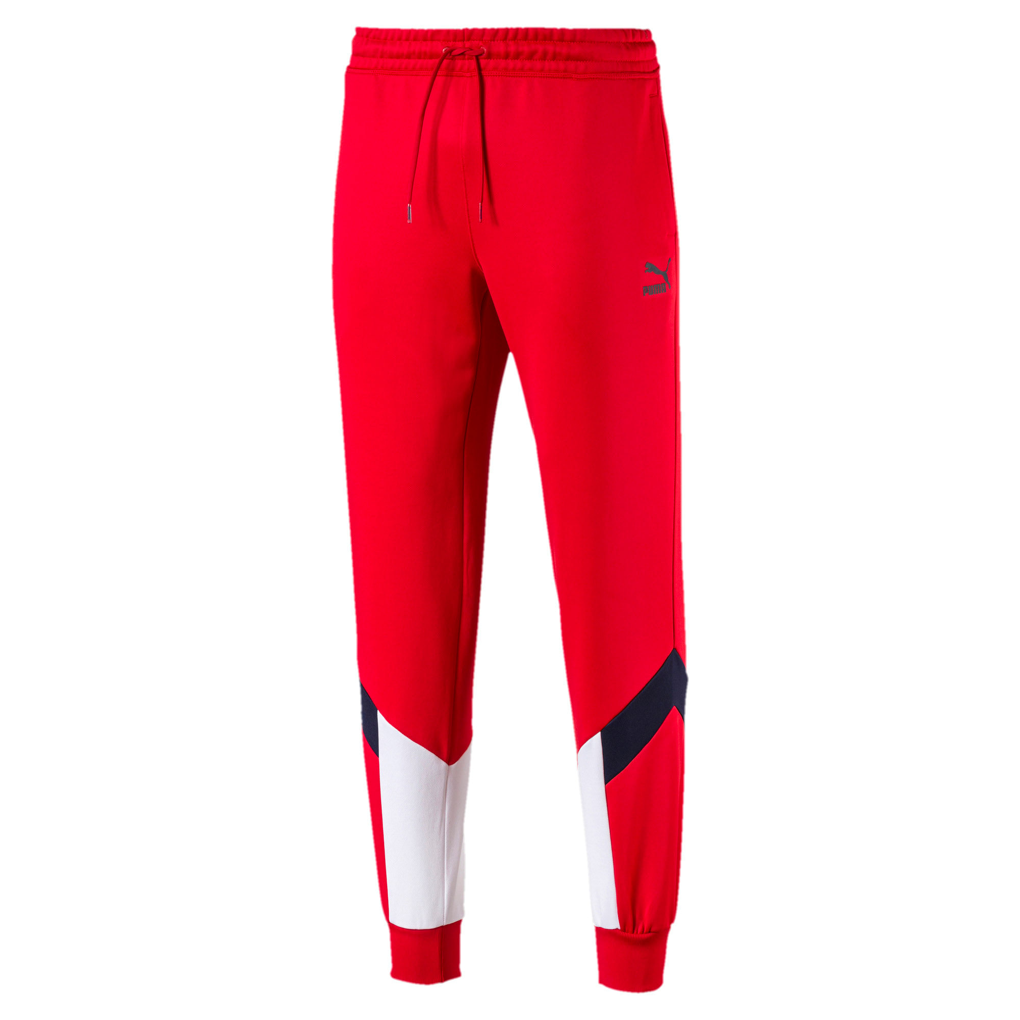 Thumbnail 4 of Iconic MCS Men's Track Pants, High Risk Red, medium-IND