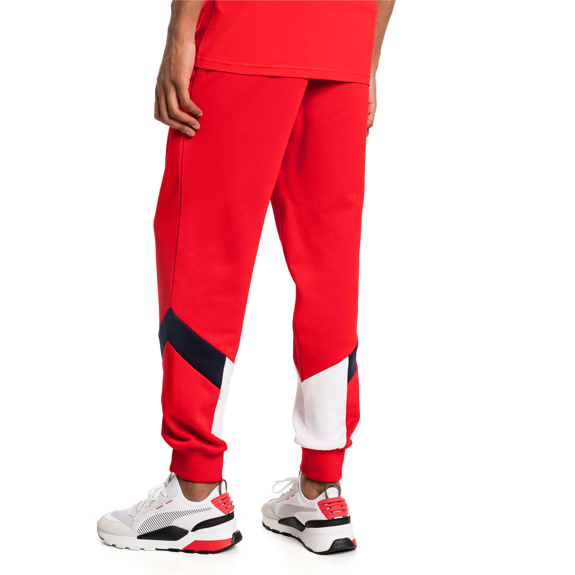 Thumbnail 2 of Iconic MCS Men's Track Pants, High Risk Red, medium-IND
