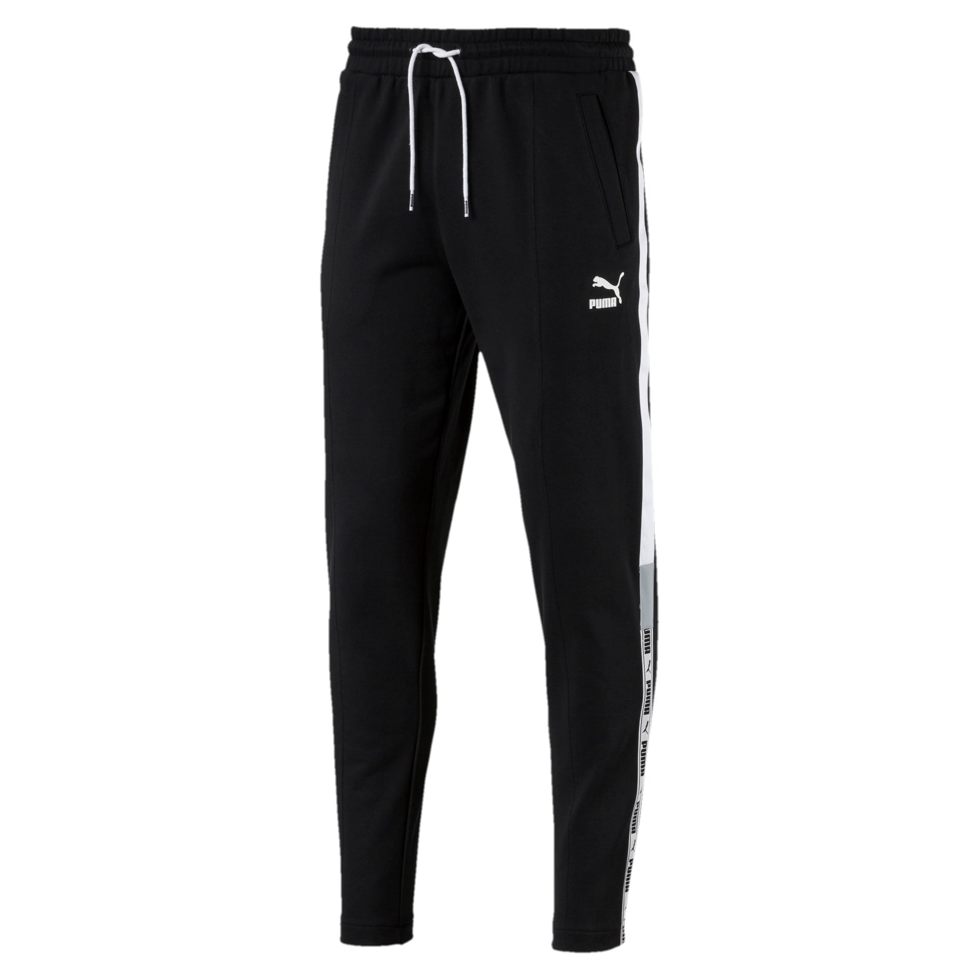 Thumbnail 1 of PUMA XTG Men's Sweatpants, Cotton Black-Puma white, medium