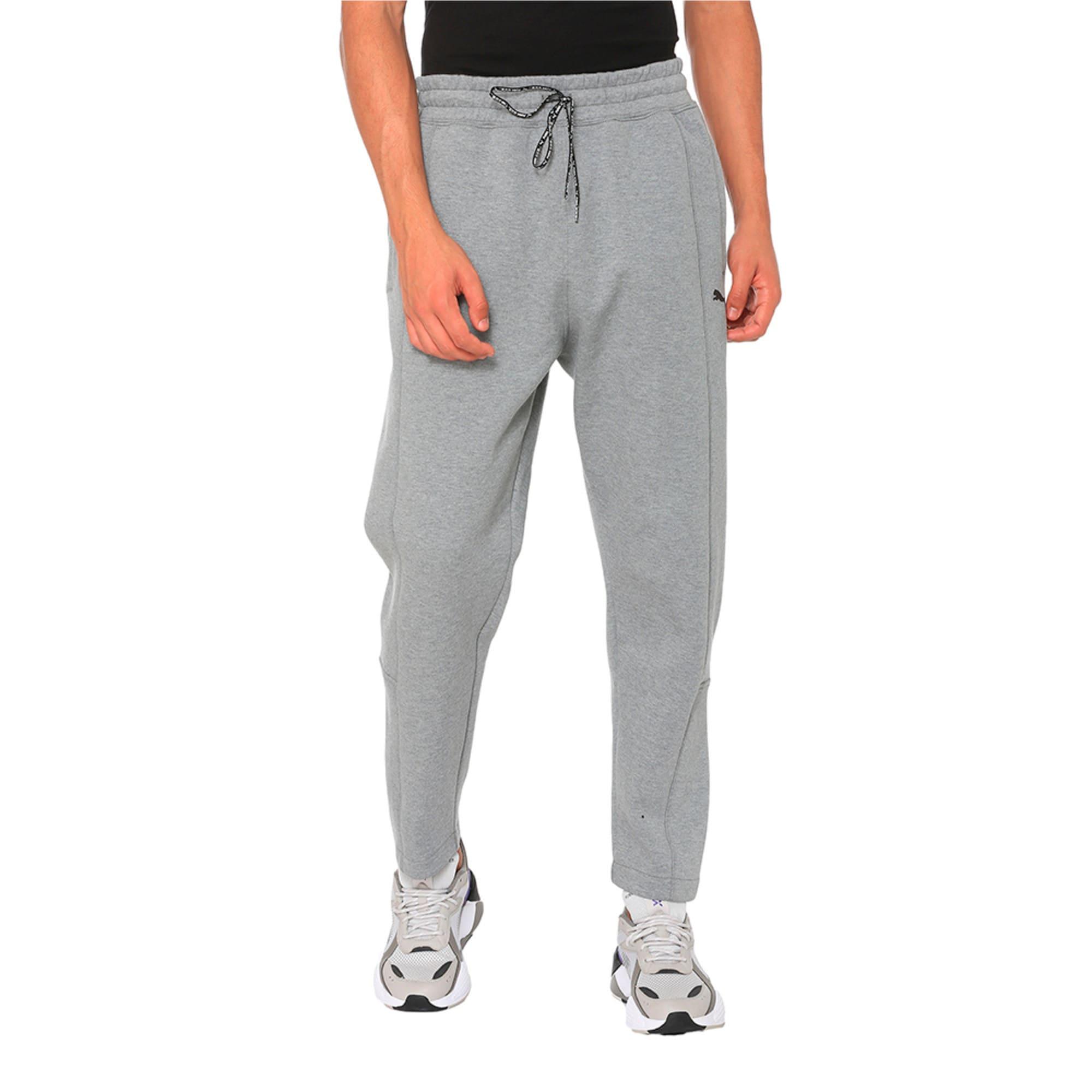 Thumbnail 2 of Epoch Knitted Men's Pants, Medium Gray Heather, medium-IND
