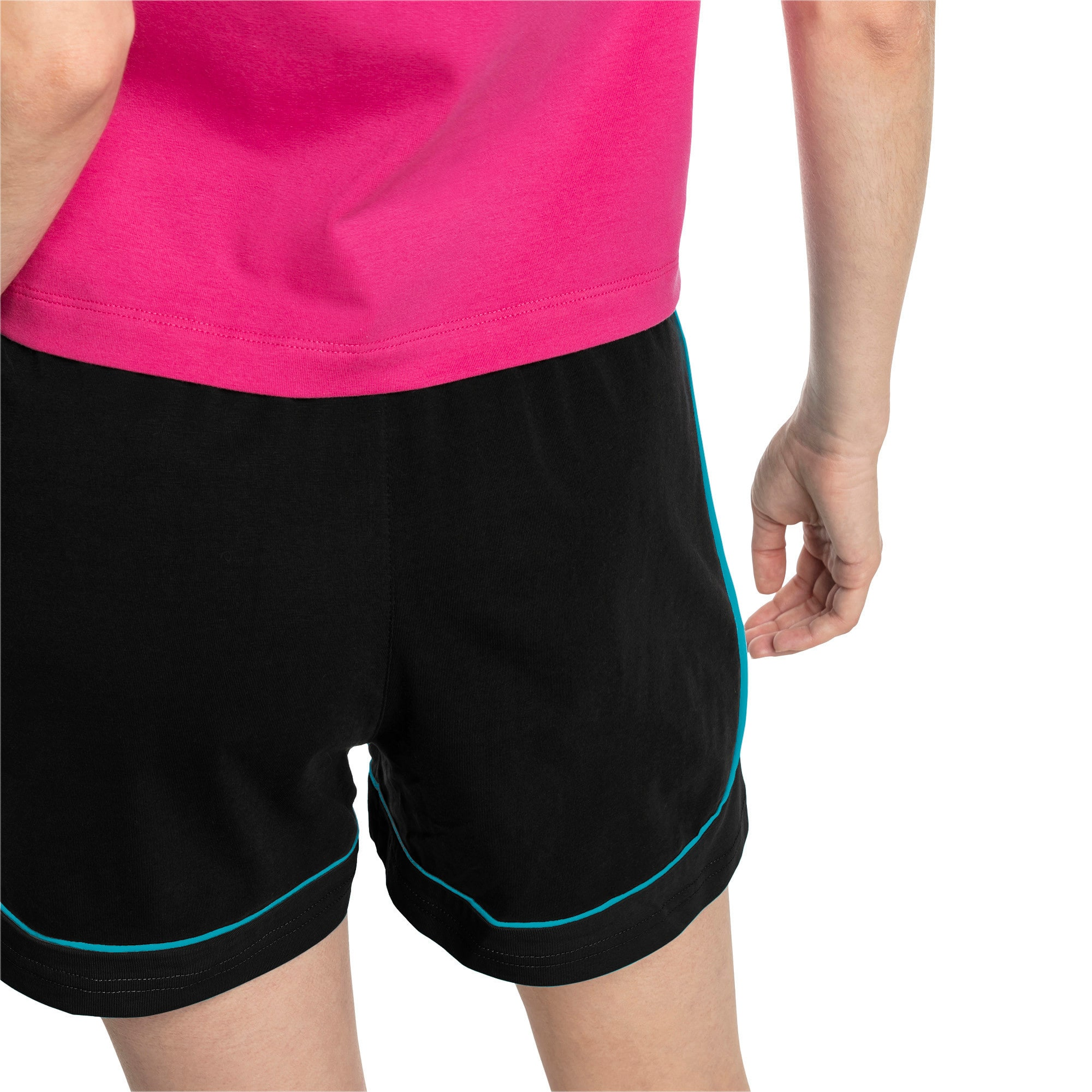 Thumbnail 2 of Chase Women's Shorts, Cotton Black-Caribbean Sea, medium