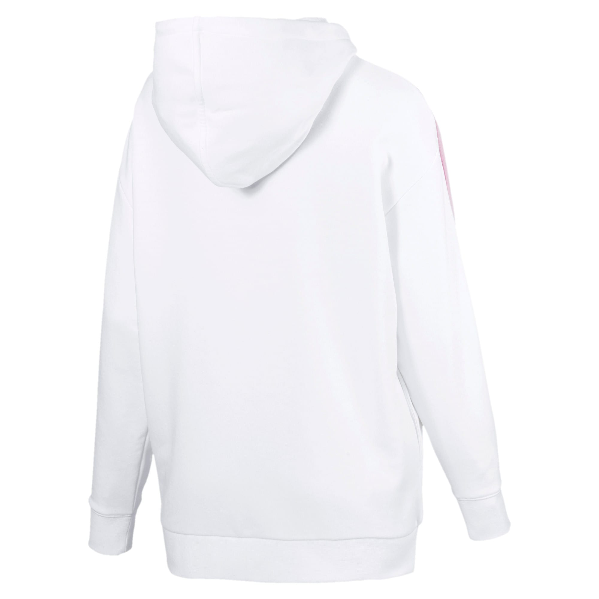 Thumbnail 4 van Classics Logo T7-hoodie voor vrouwen, Puma White, medium