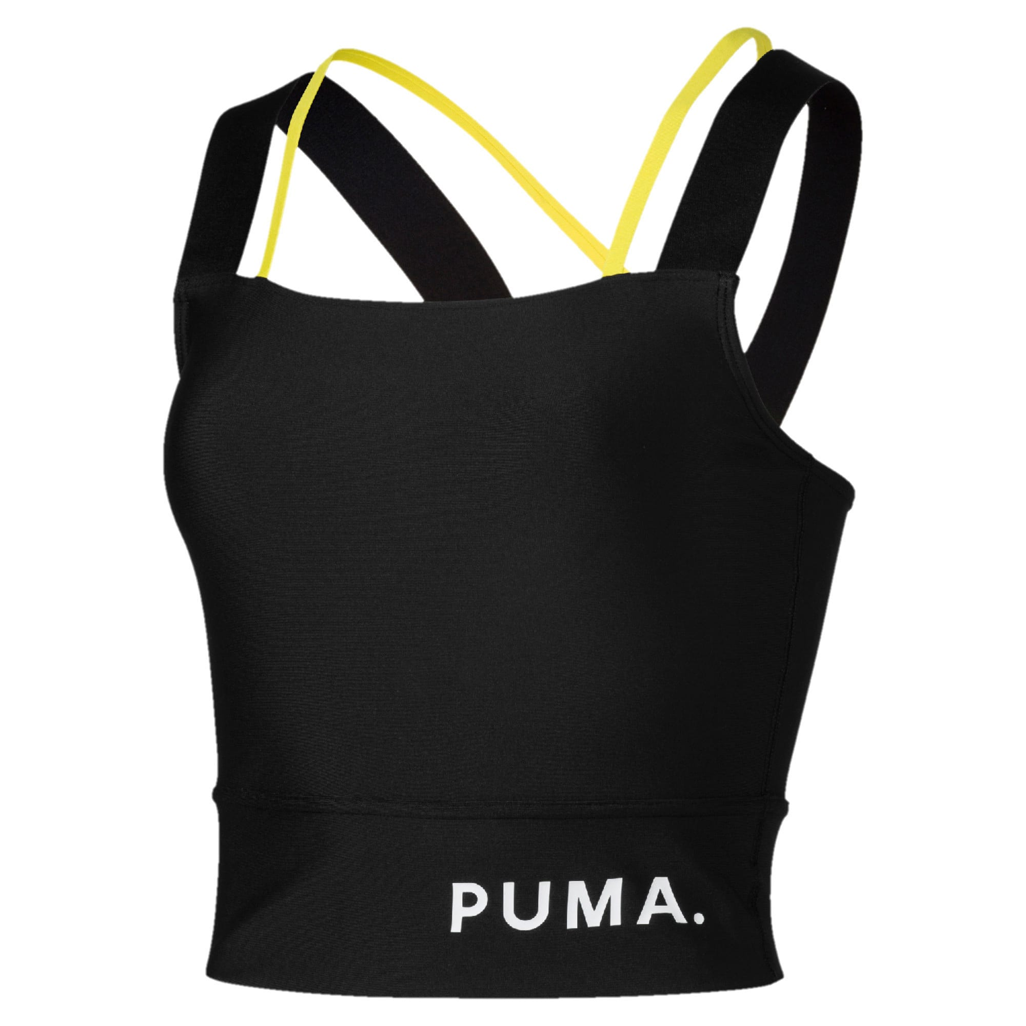 Thumbnail 4 of Chase Women's Crop Top, Puma Black, medium-IND