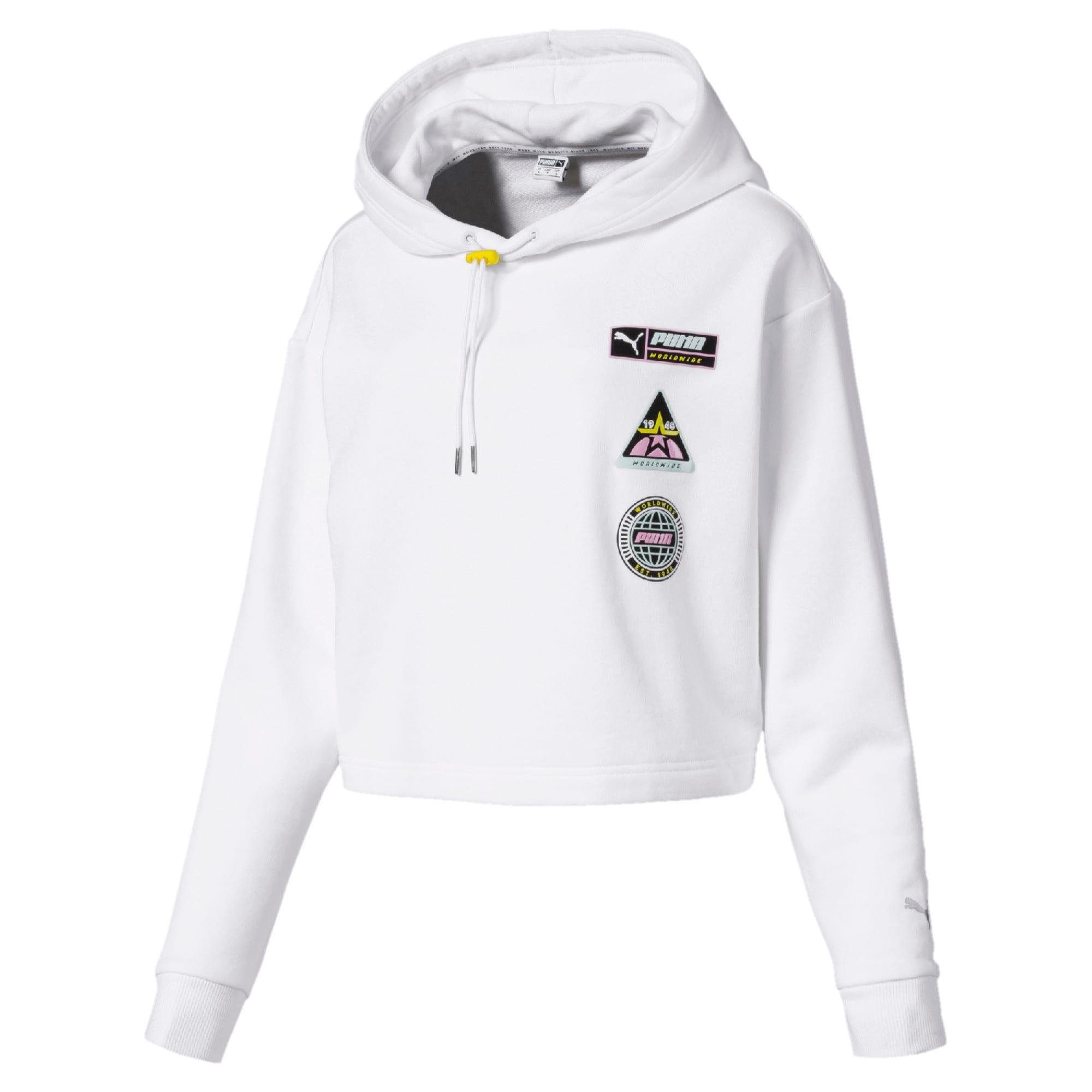 Thumbnail 4 van Trailblazer hoodie voor vrouwen, Puma White, medium
