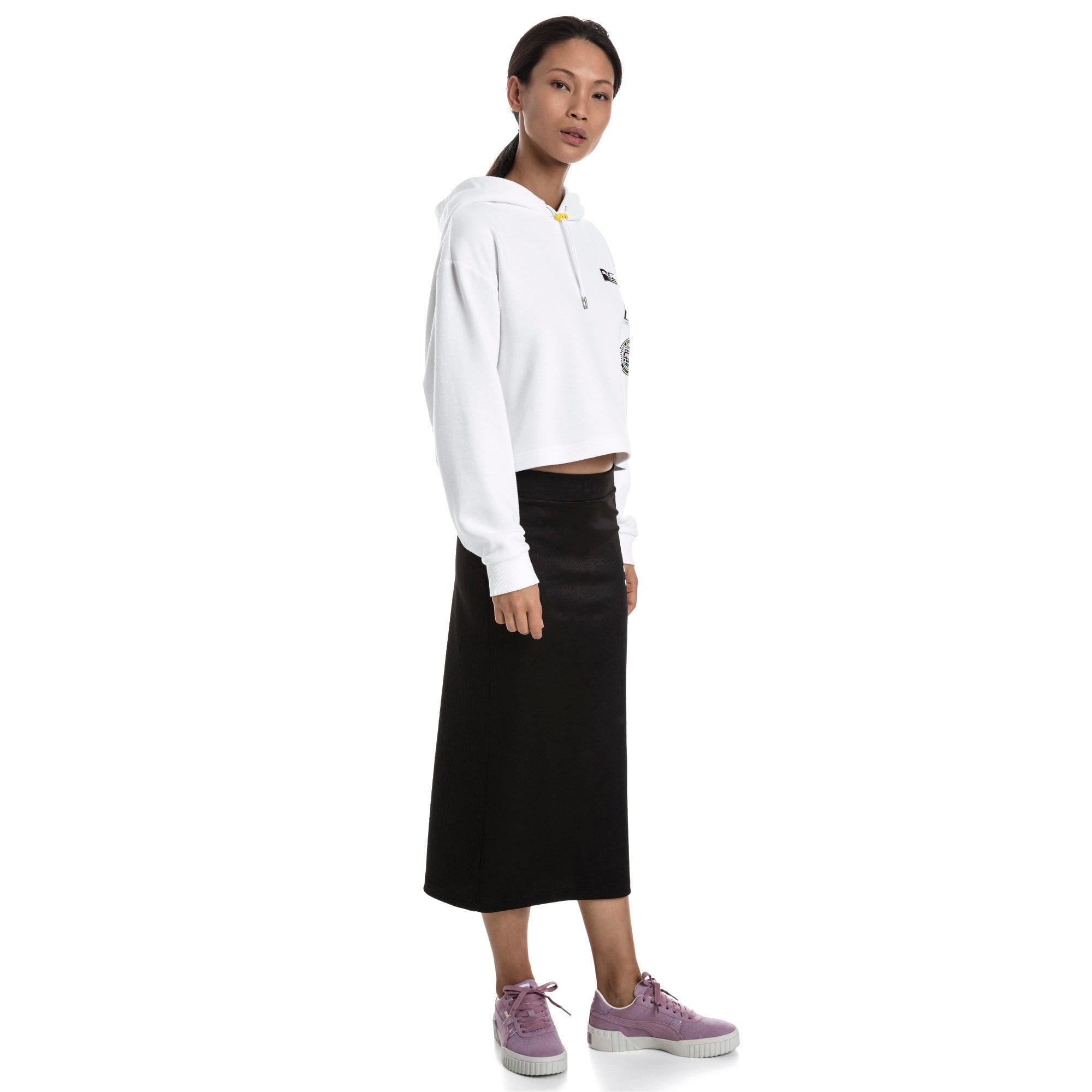 Thumbnail 3 van Trailblazer hoodie voor vrouwen, Puma White, medium