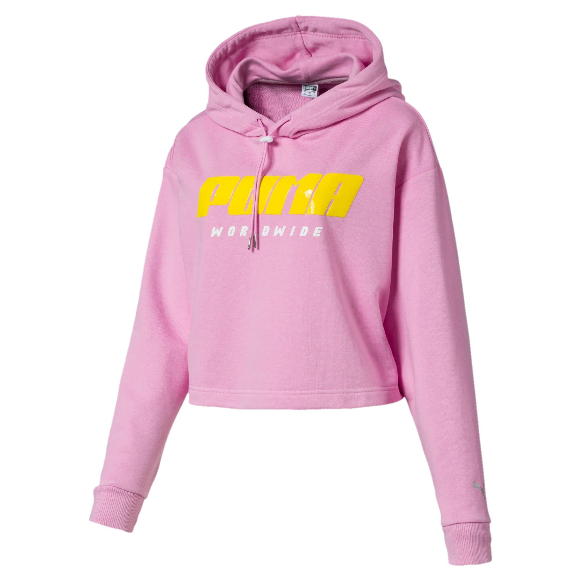 Thumbnail 4 of Trailblazer hoodie voor dames, Pale Pink, medium