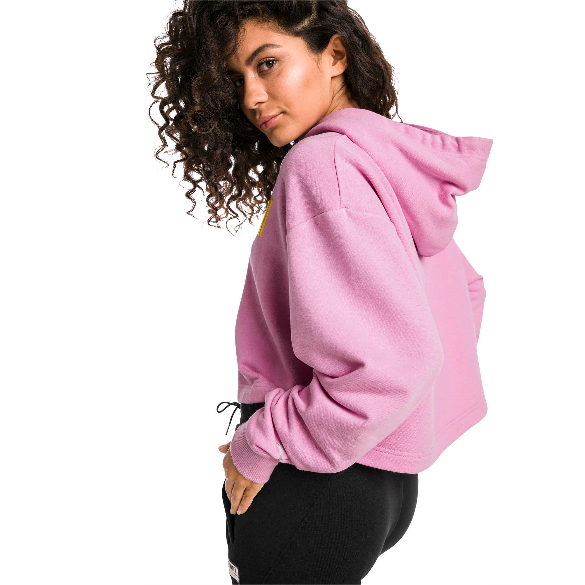 Thumbnail 2 of Trailblazer hoodie voor dames, Pale Pink, medium