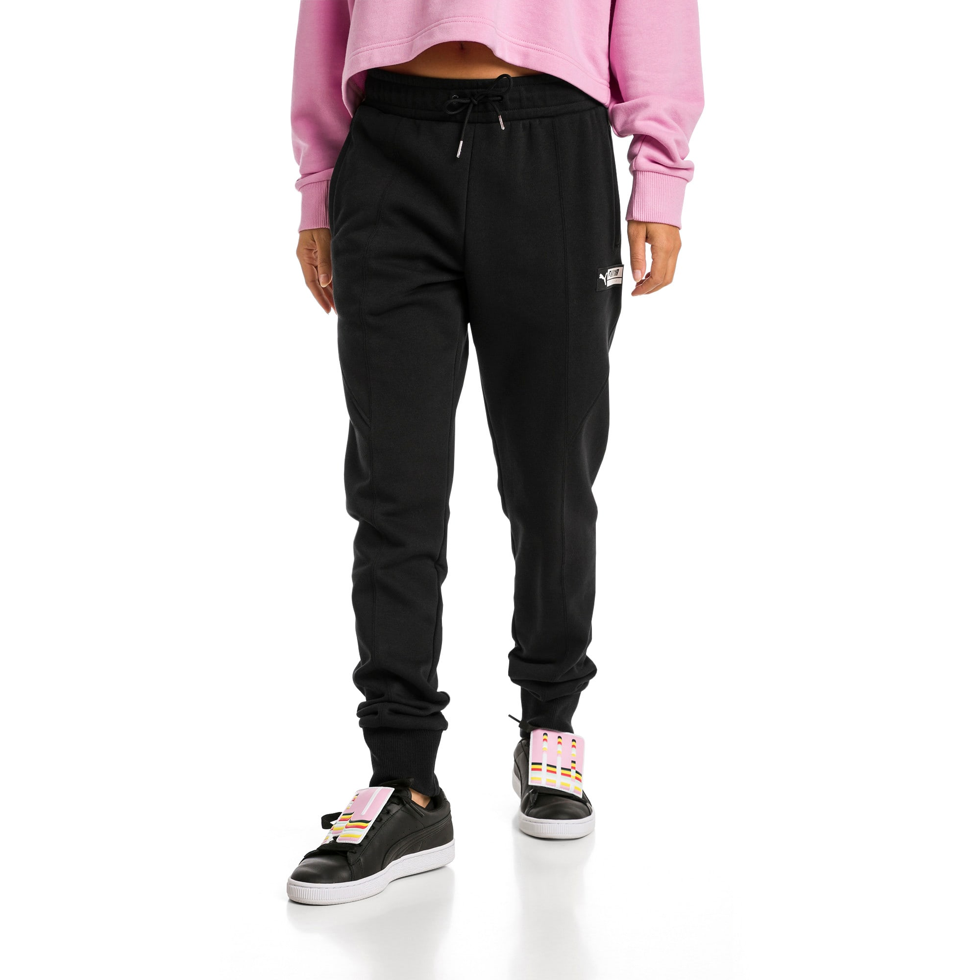 Thumbnail 1 of Trailblazer sweatpants voor dames, Puma Black, medium