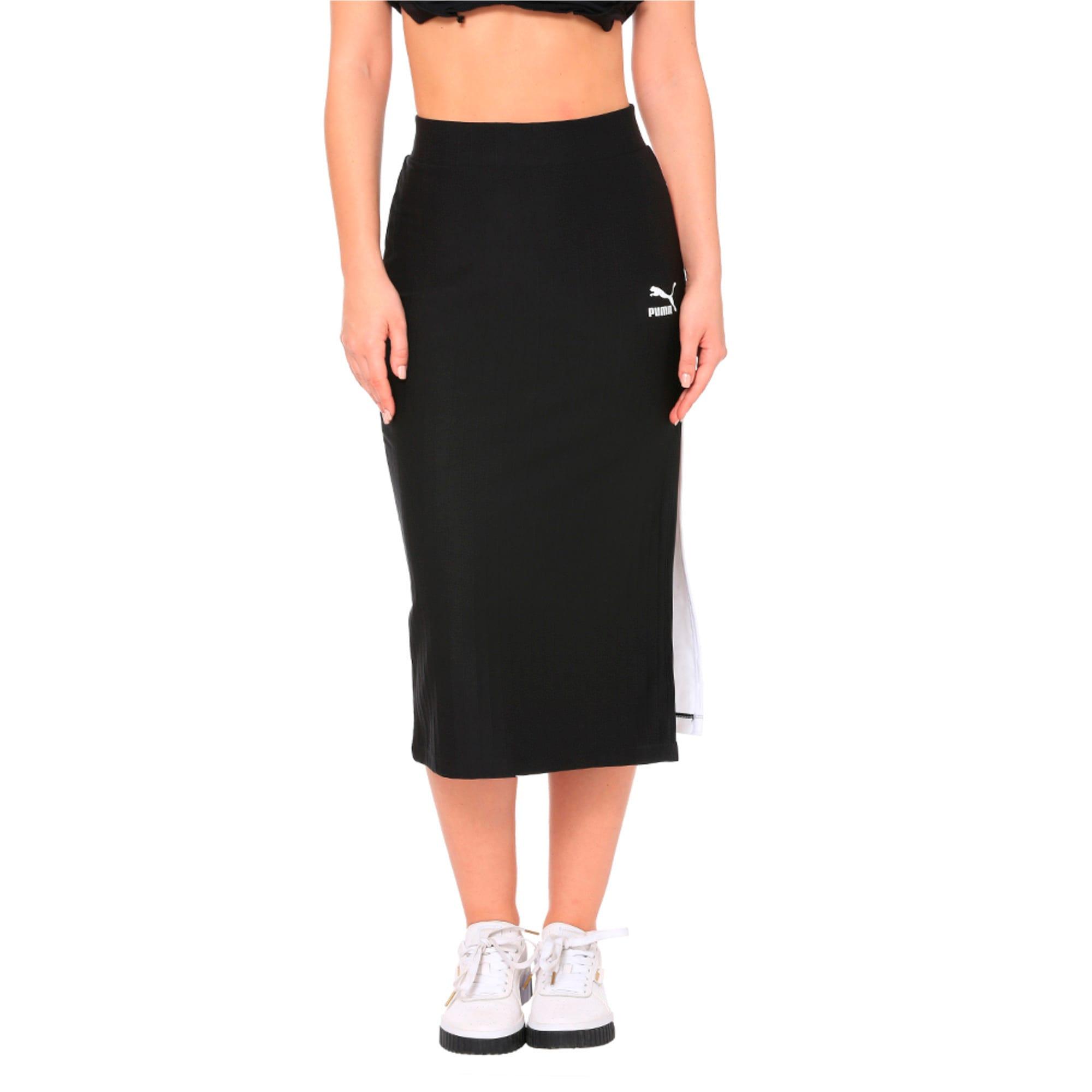 Thumbnail 1 of Classics Women's Skirt, Puma Black, medium-IND