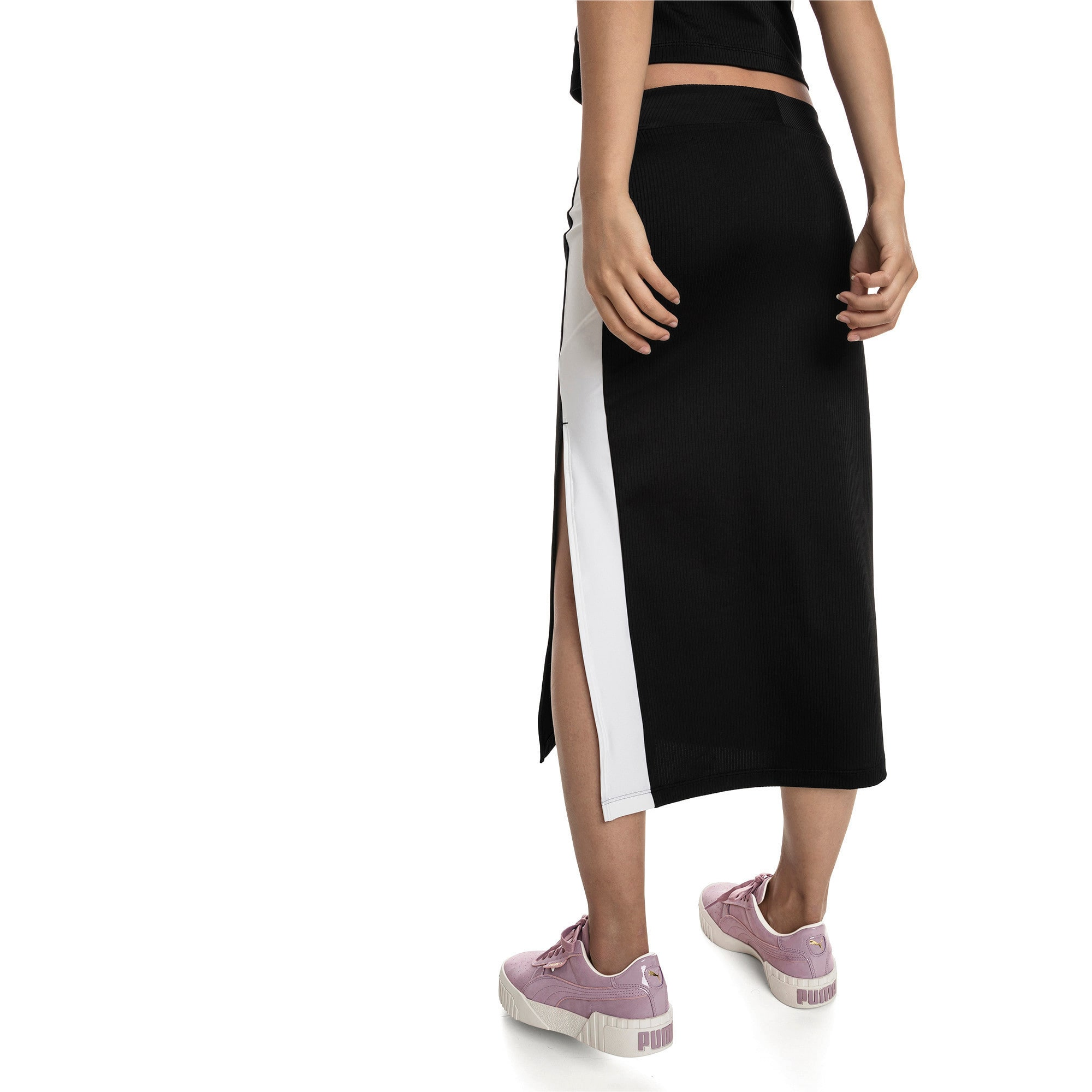 Thumbnail 2 of Classics Women's Skirt, Puma Black, medium