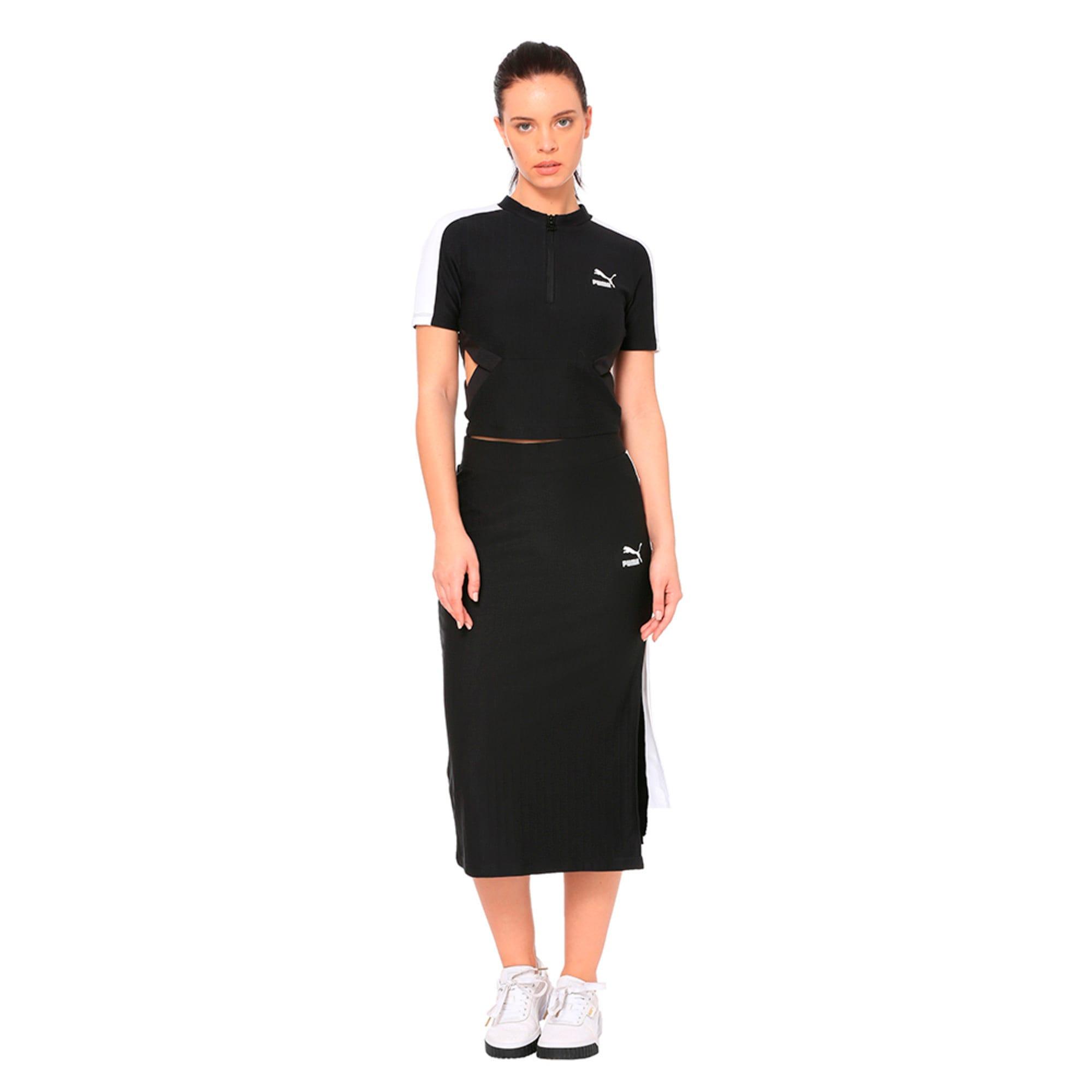 Thumbnail 3 of Classics Women's Skirt, Puma Black, medium-IND
