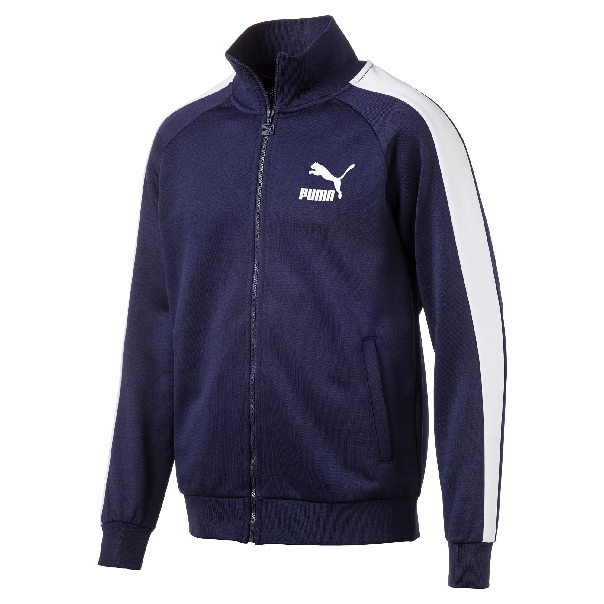 Iconic T7 PT Men's Track Jacket, Peacoat, large-IND