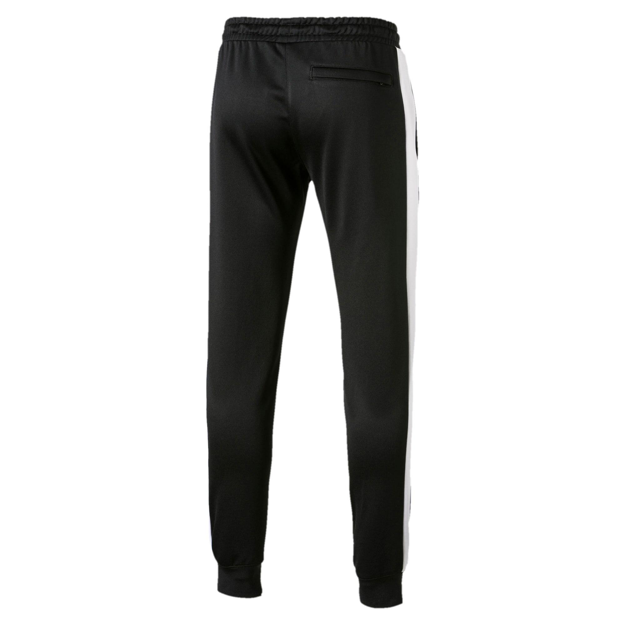 Thumbnail 5 of Iconic T7 Herren Gestrickte Sweatpants, Puma Black, medium
