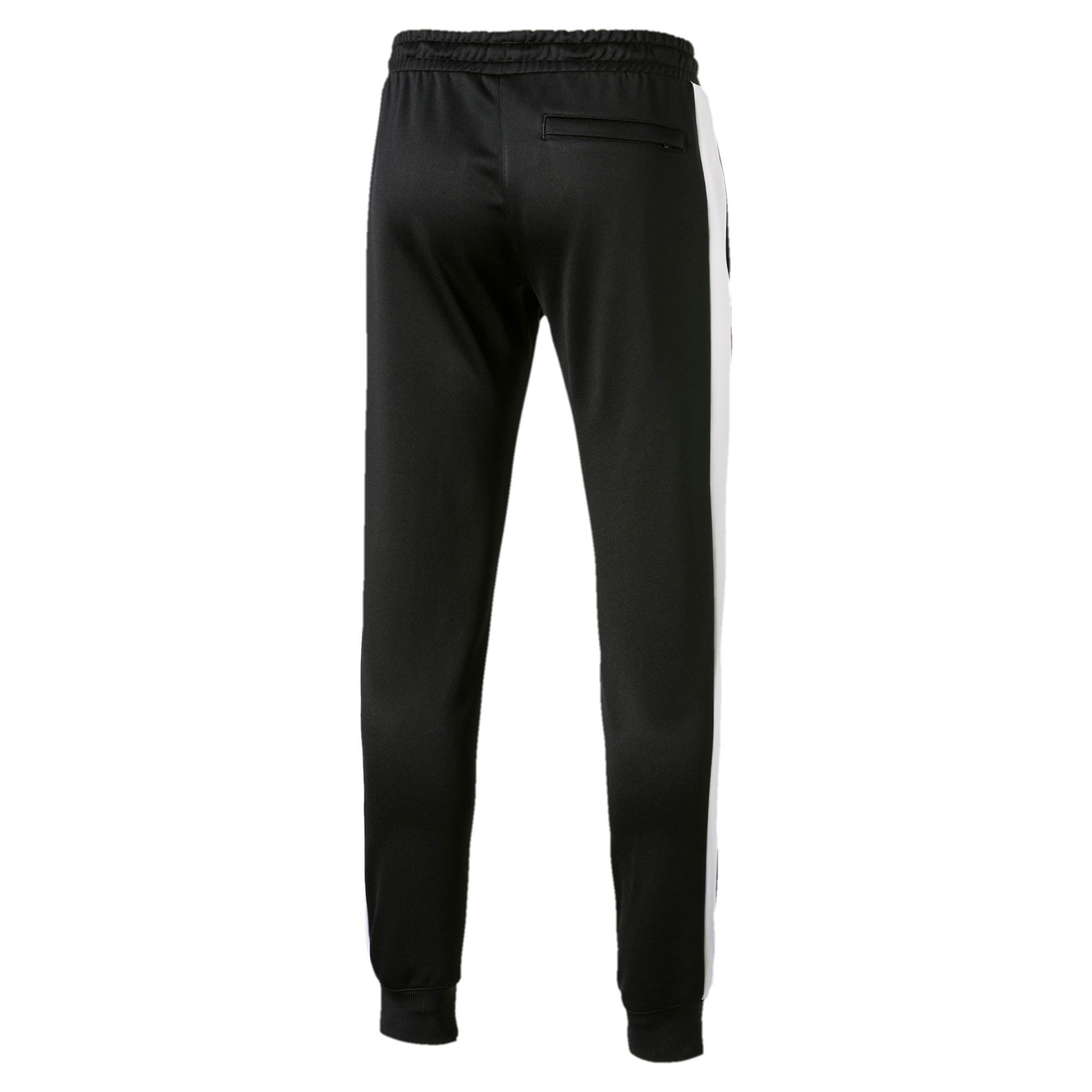 Thumbnail 5 of Iconic T7 Kntted Men's Sweatpants, Puma Black, medium-IND