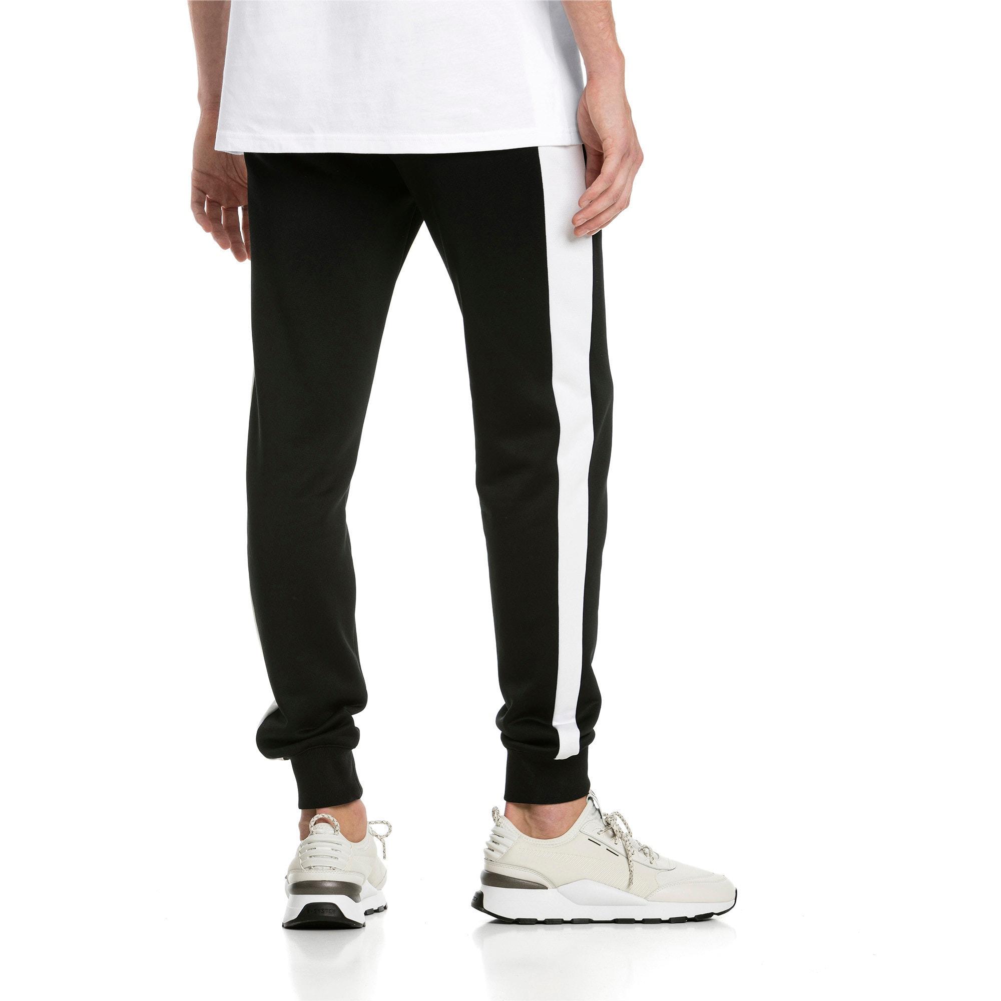Thumbnail 2 of Iconic T7 Herren Gestrickte Sweatpants, Puma Black, medium