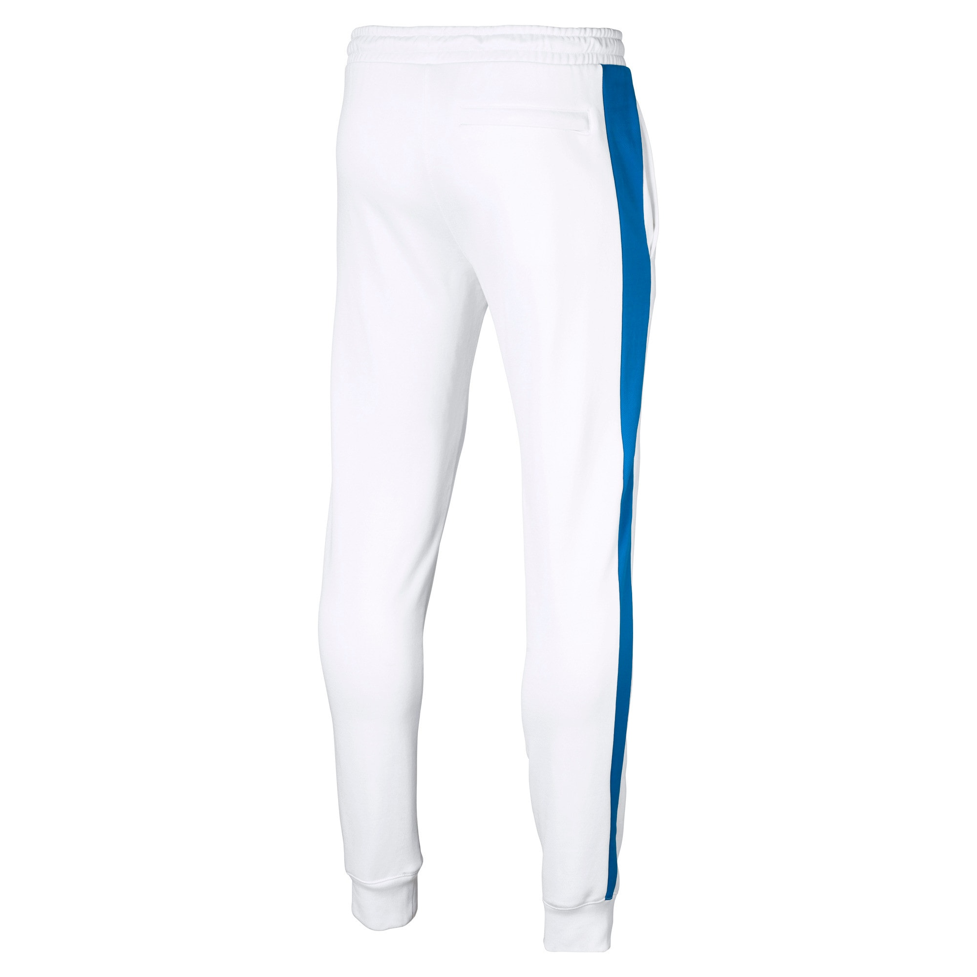 Thumbnail 4 of Iconic T7 Herren Gestrickte Sweatpants, Puma White, medium