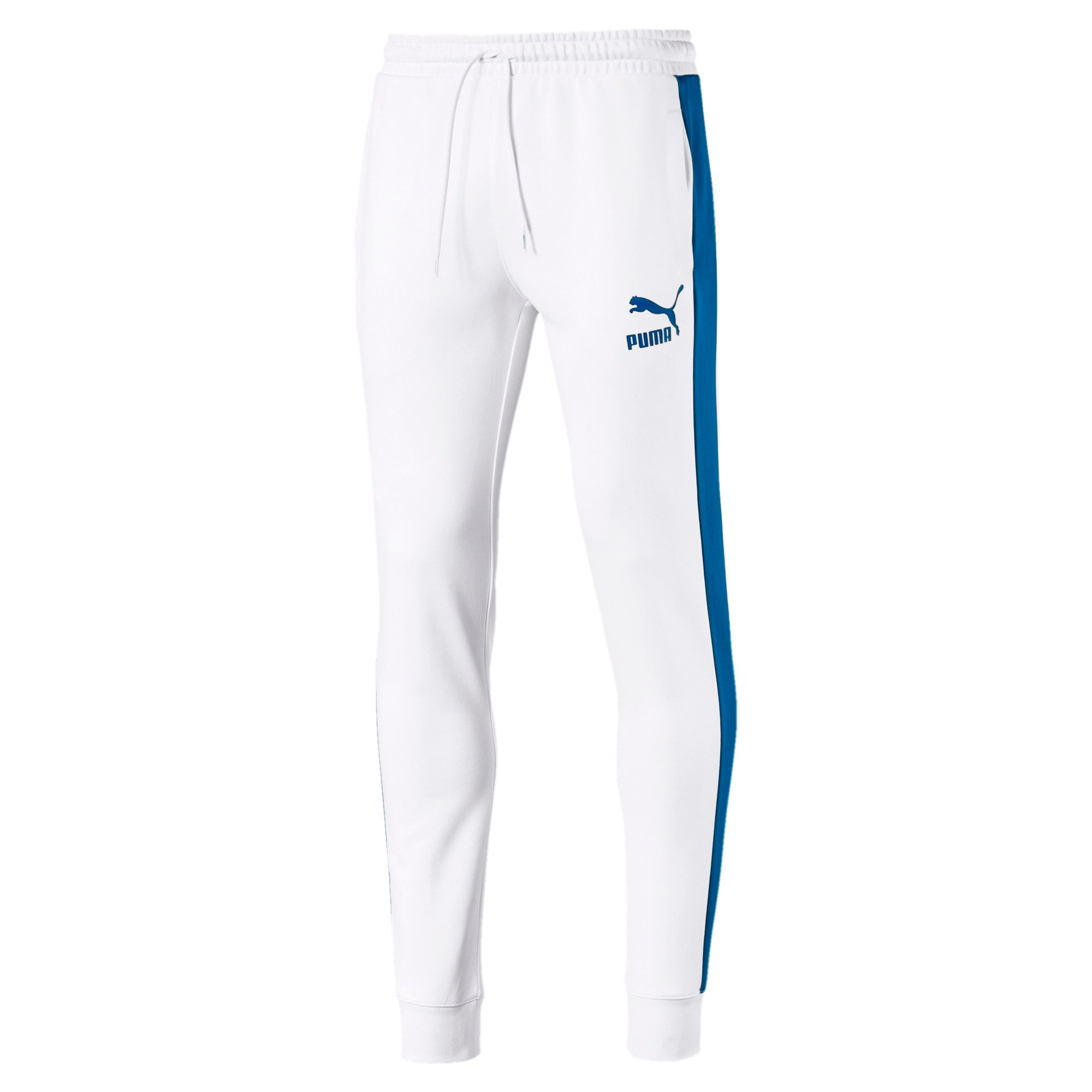 Thumbnail 1 of Iconic T7 Herren Gestrickte Sweatpants, Puma White, medium
