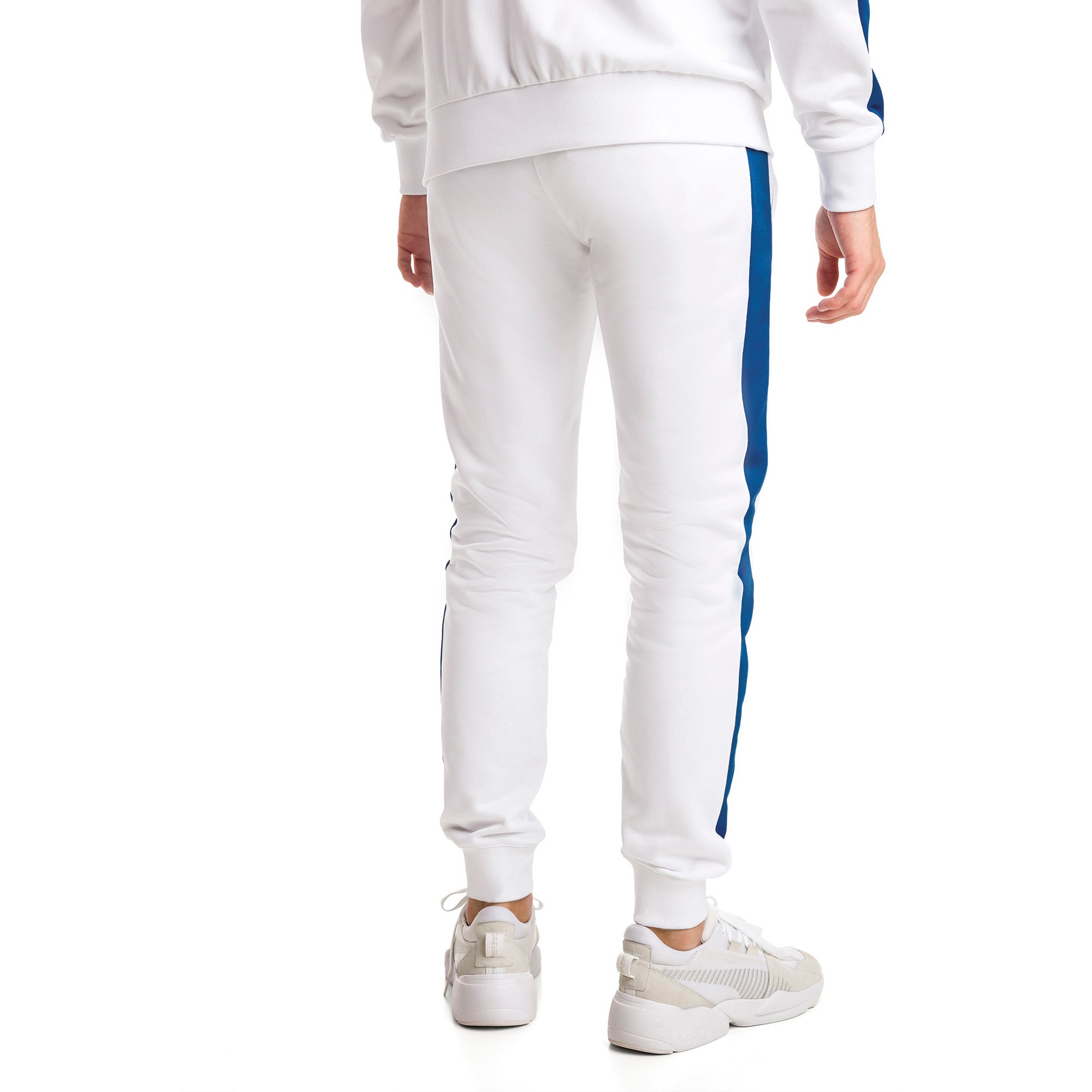 Thumbnail 3 of Iconic T7 Herren Gestrickte Sweatpants, Puma White, medium