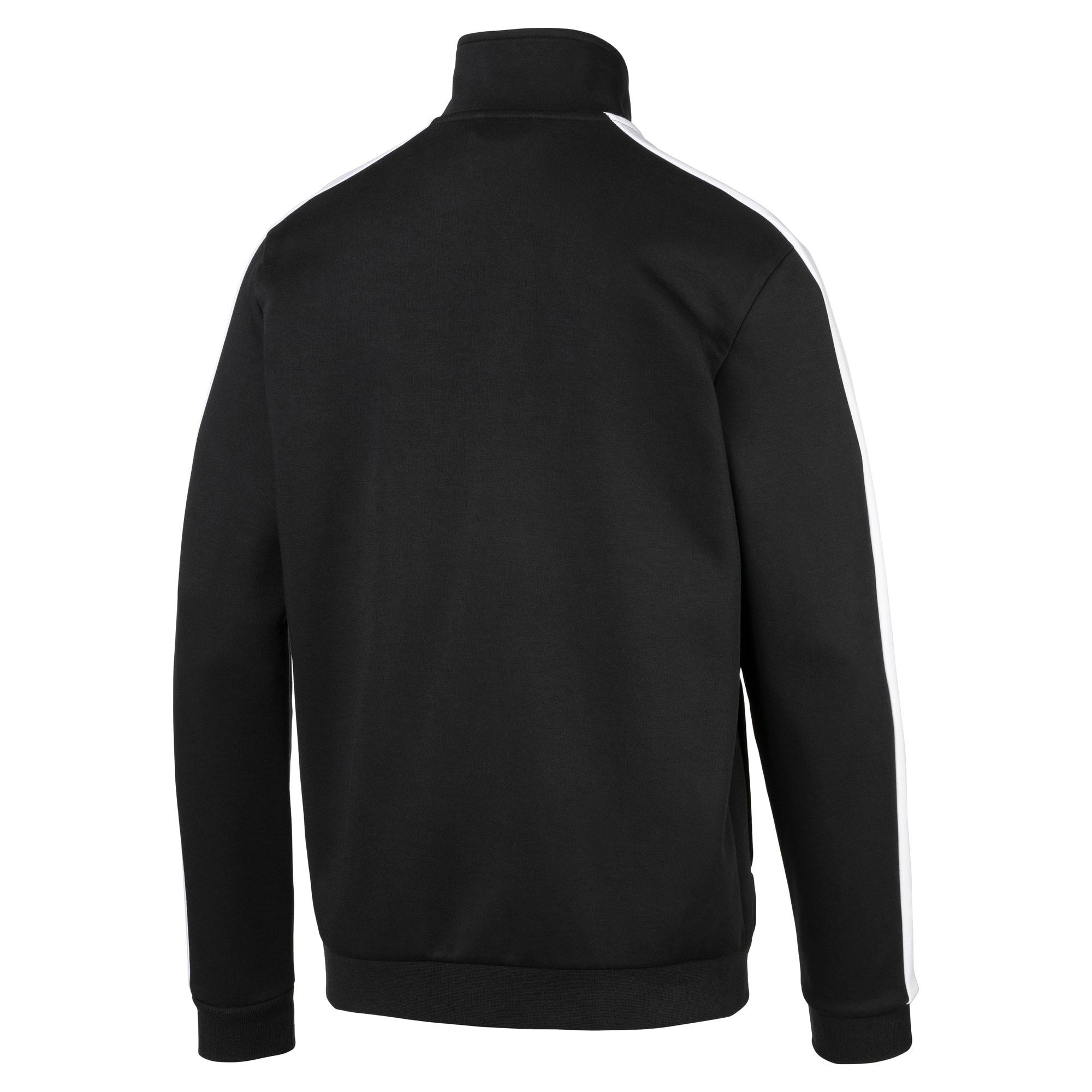 Thumbnail 4 of Archive Iconic T7 Double Knit Men's Track Jacket, Cotton Black, medium