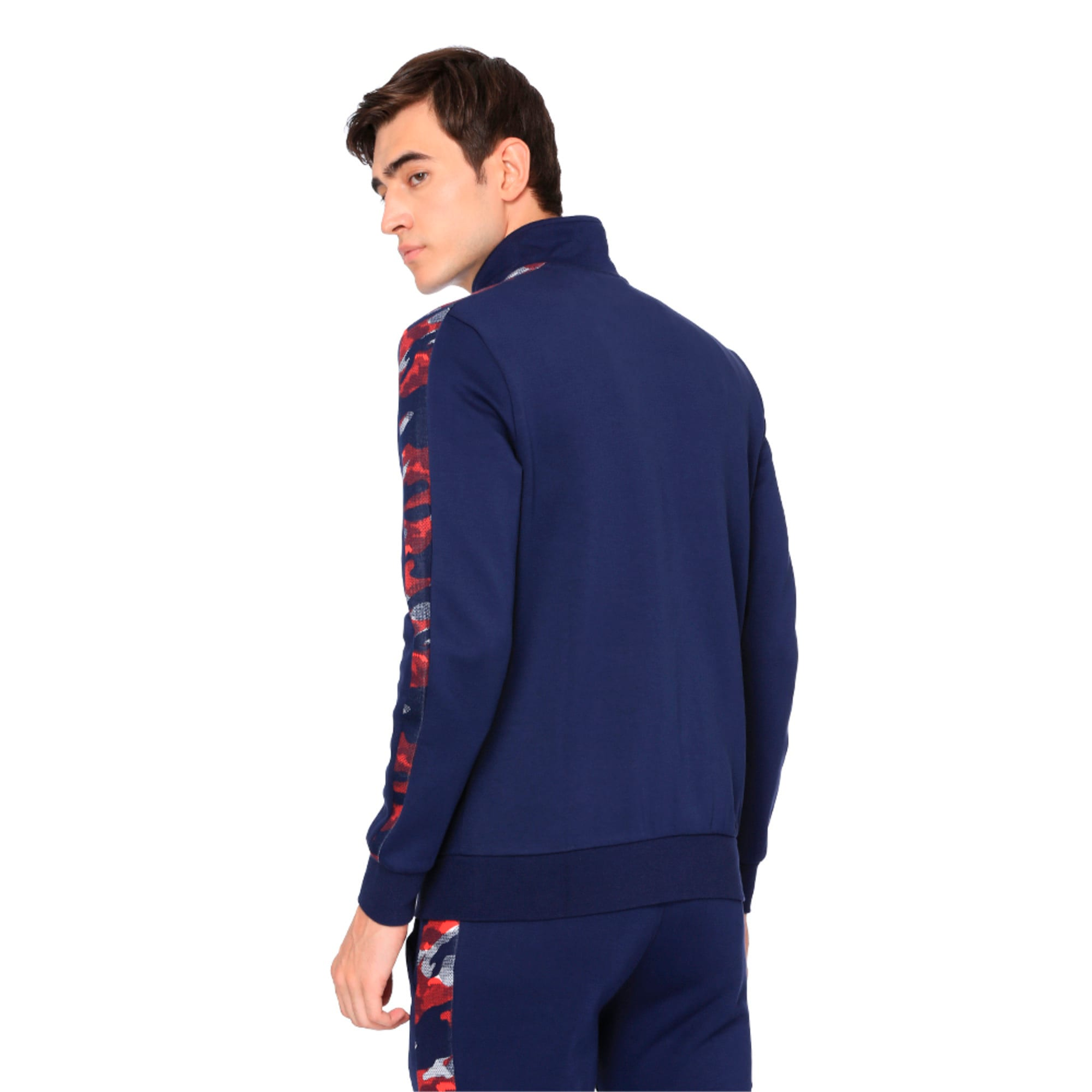 Thumbnail 5 of Classics T7 Track Jacket AOP, Peacoat, medium-IND