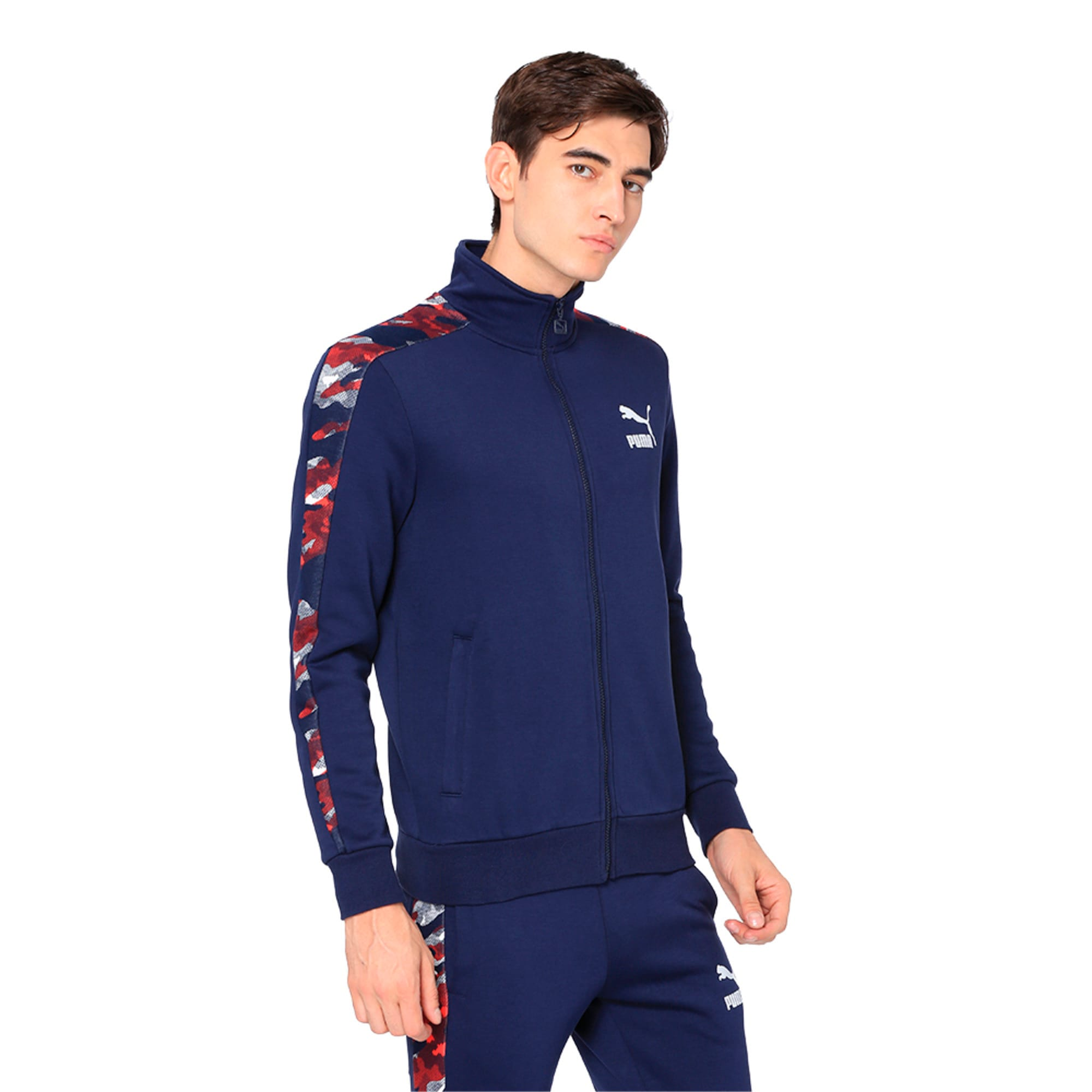 Thumbnail 1 of Classics T7 Track Jacket AOP, Peacoat, medium-IND