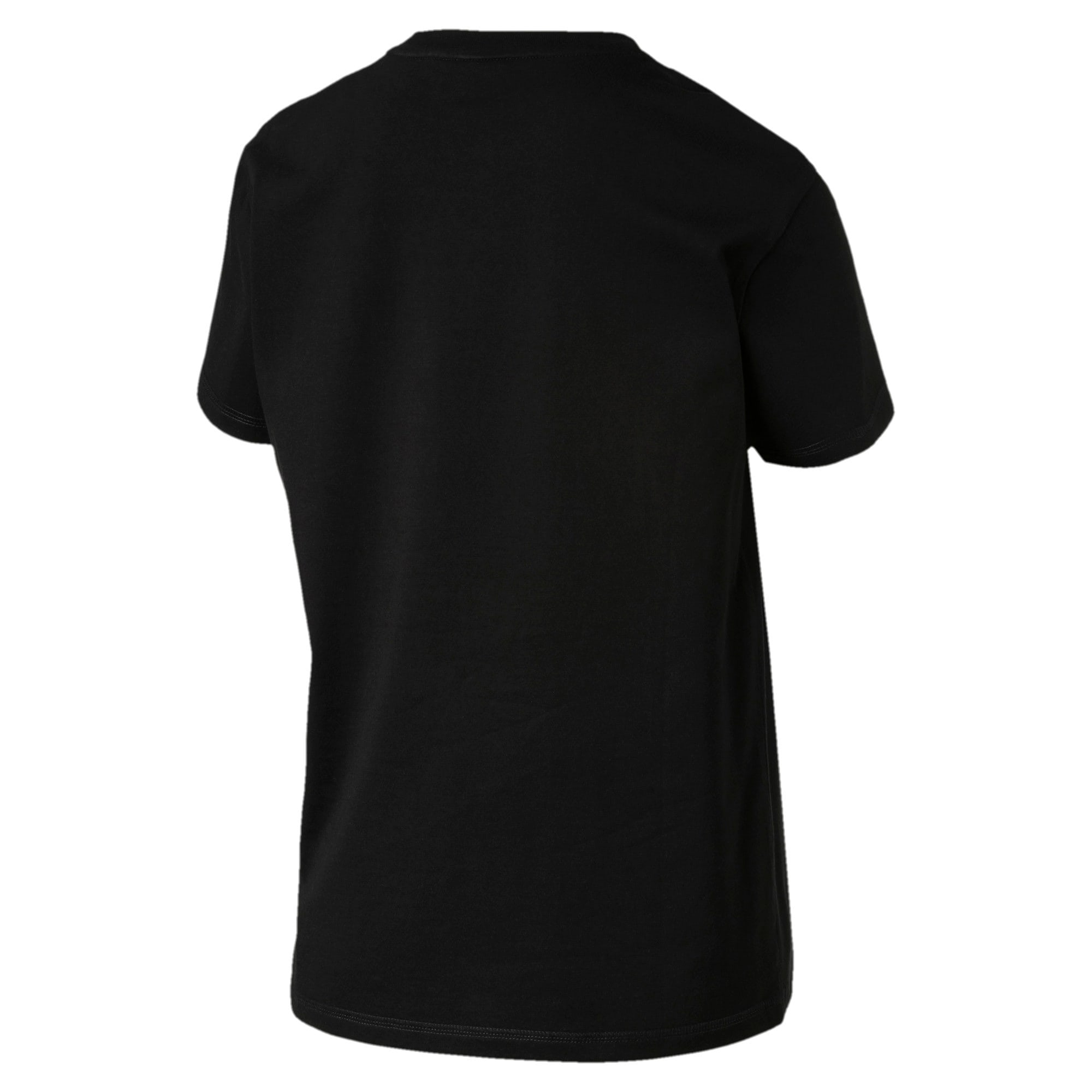 Thumbnail 4 of Downtown Damen T-Shirt, Cotton Black, medium