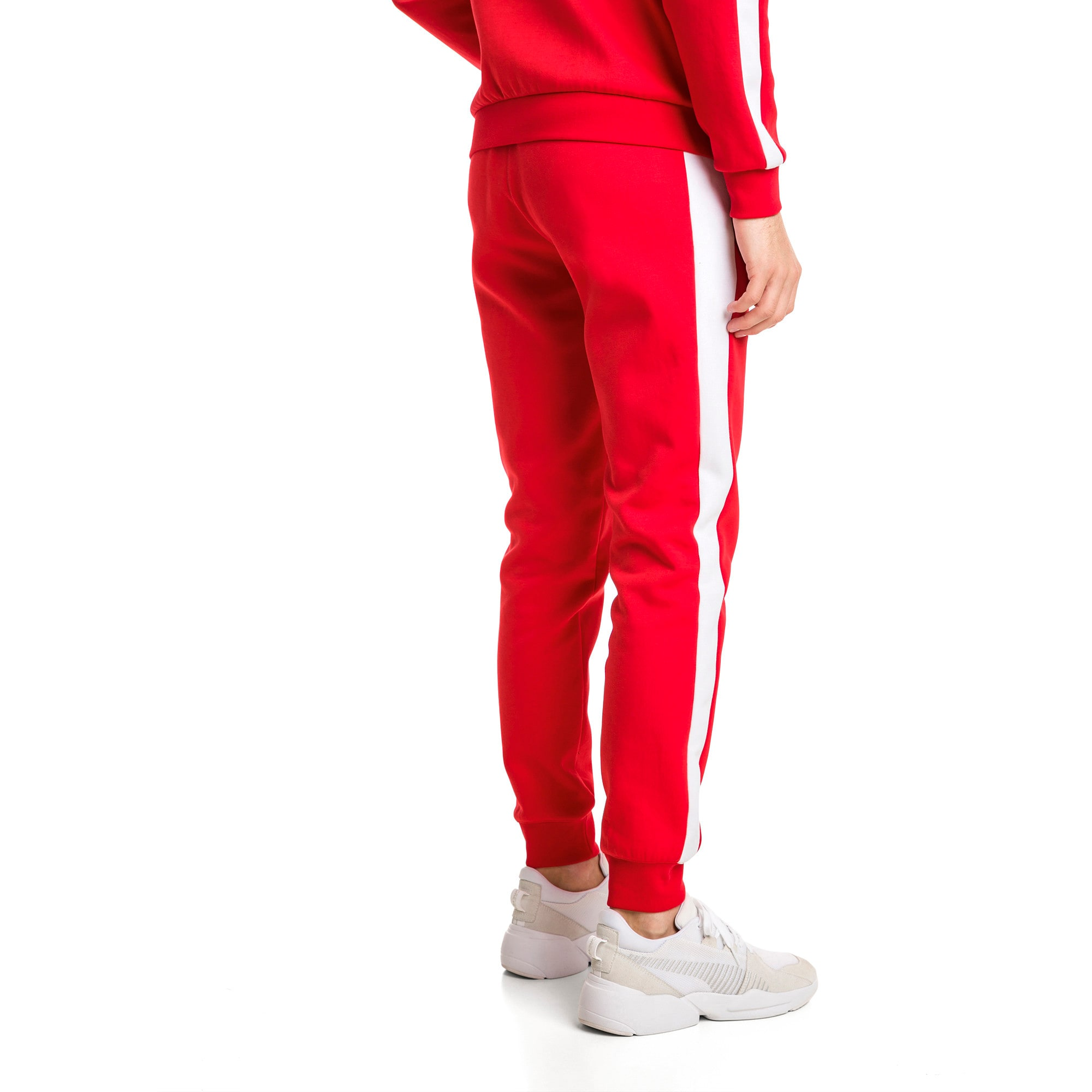 Thumbnail 3 of Archive Iconic T7 Double Knit Men's Track Pants, High Risk Red, medium