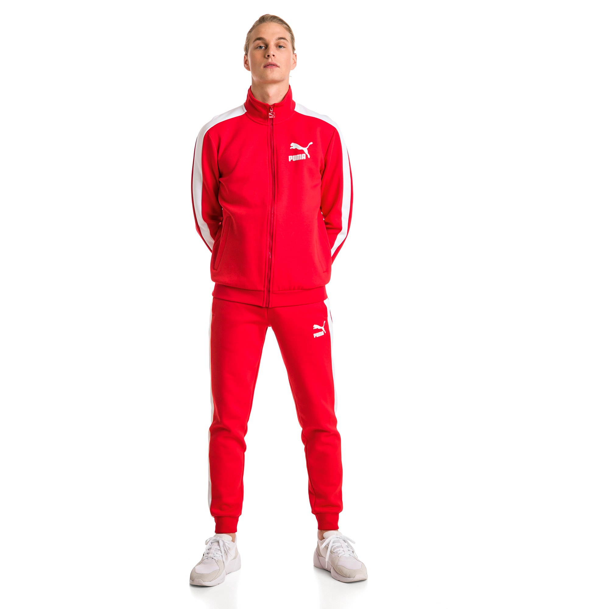Thumbnail 5 of Archive Iconic T7 Double Knit Men's Track Pants, High Risk Red, medium