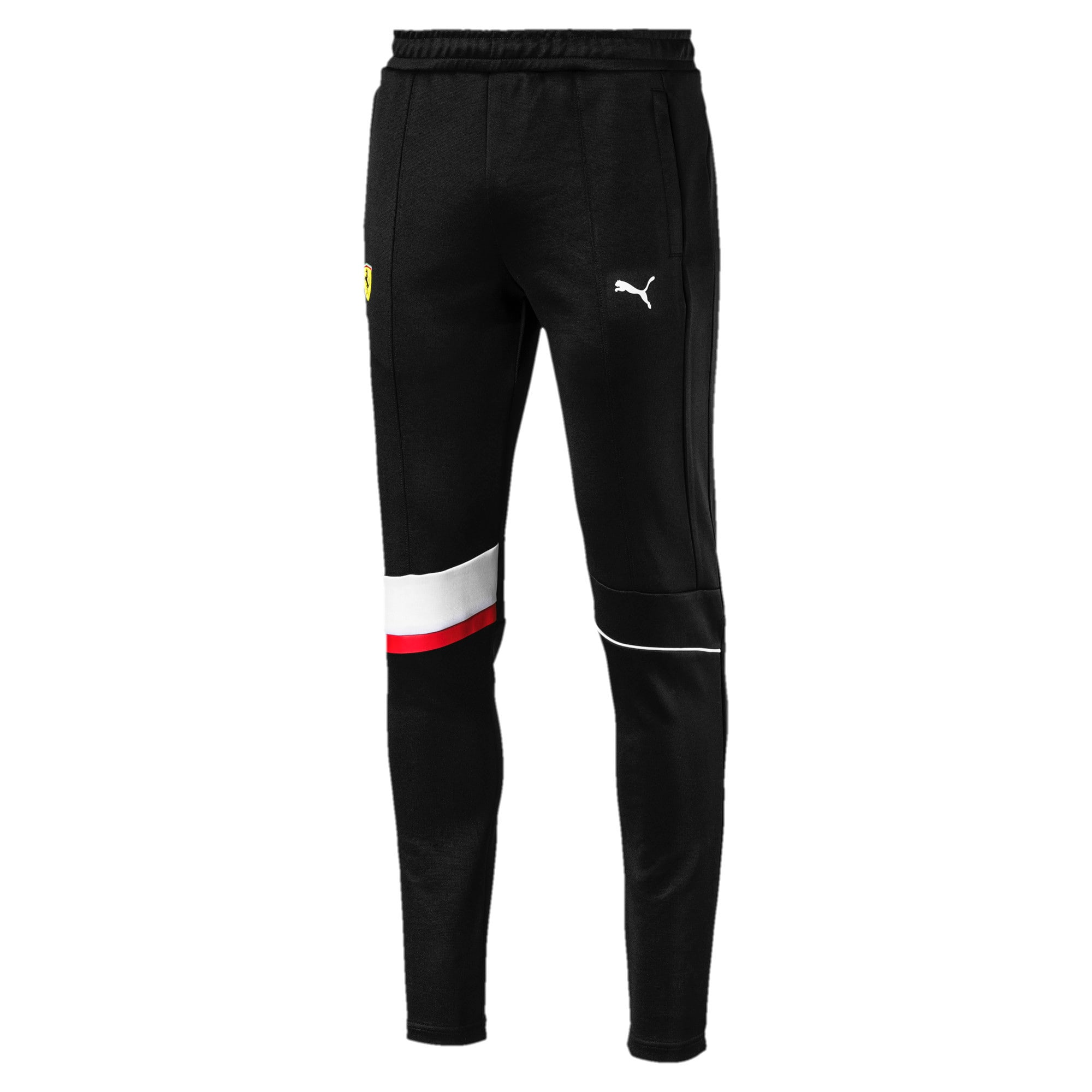 Thumbnail 4 van Ferrari T7 sweatpants voor heren, Puma Black, medium