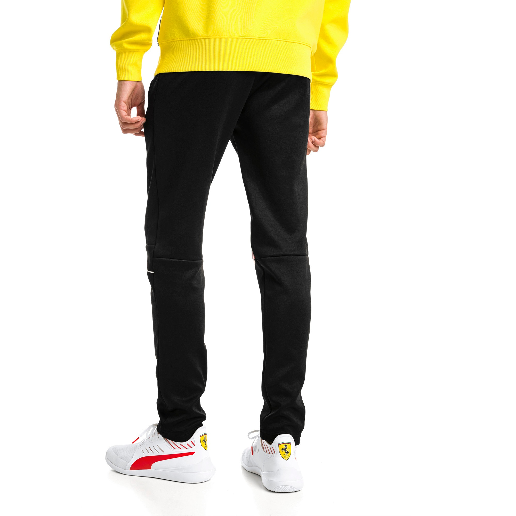 Thumbnail 2 van Ferrari T7 sweatpants voor heren, Puma Black, medium