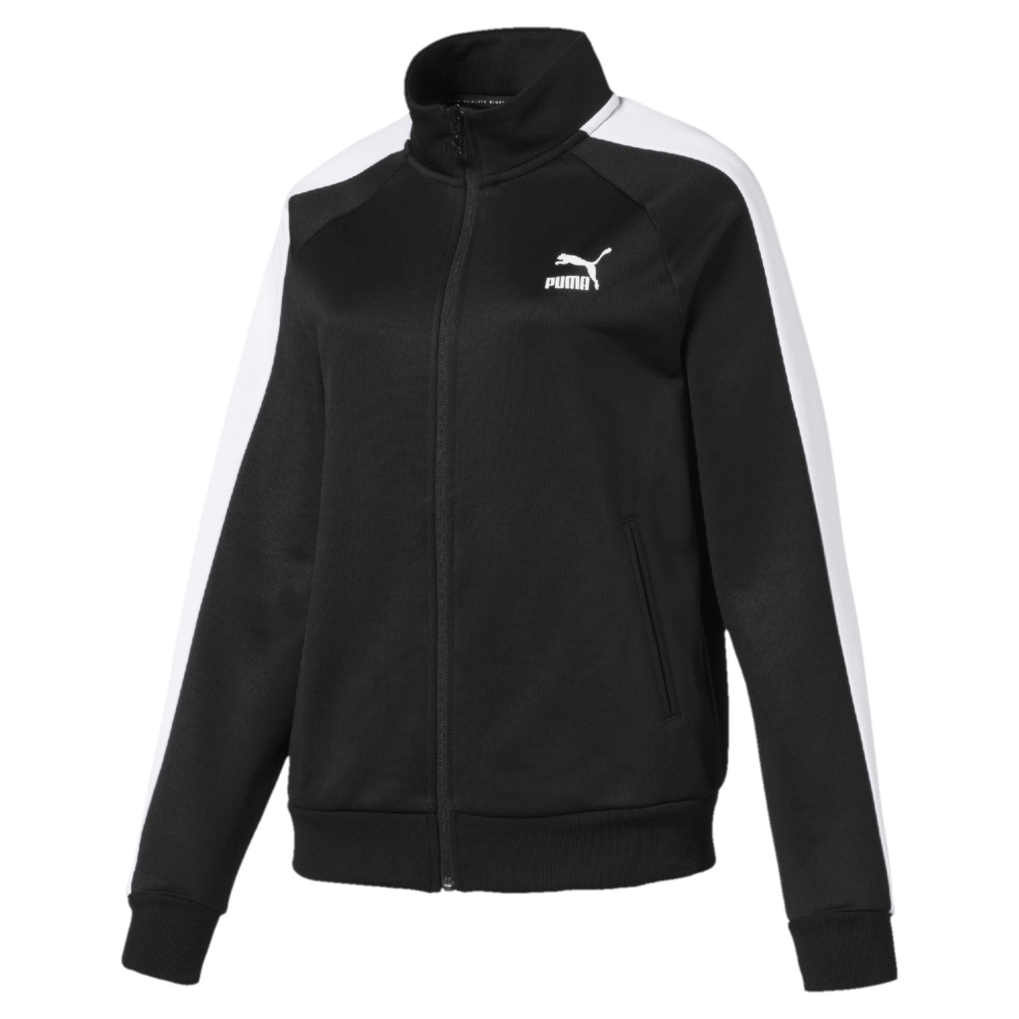 Thumbnail 4 of Classics T7 PT Women's Track Jacket, Puma Black-1, medium-IND