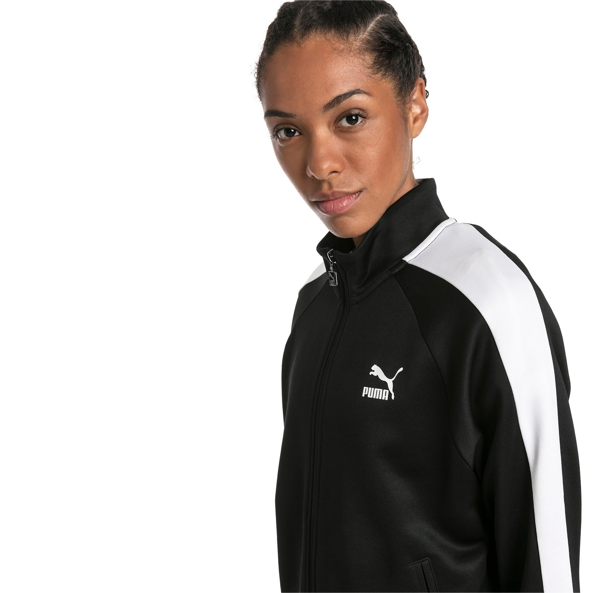 Thumbnail 1 of Classics T7 PT trainingsjack voor dames, Puma Black-1, medium