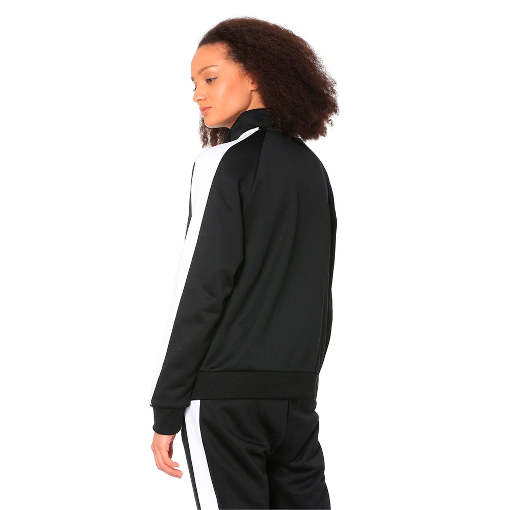 Thumbnail 2 of Classics T7 PT Women's Track Jacket, Puma Black-1, medium-IND