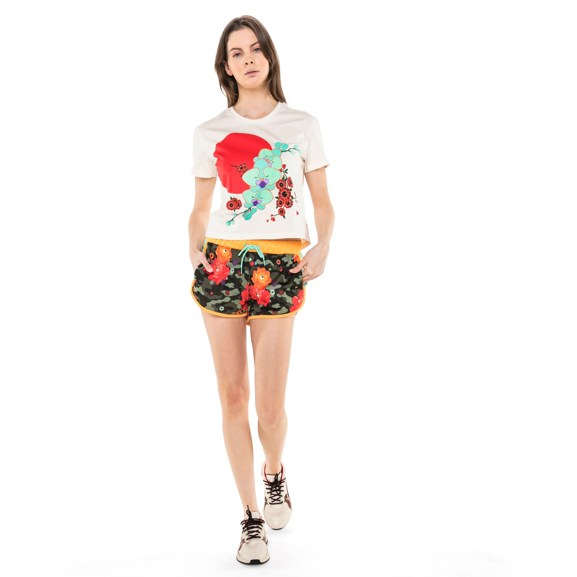 Thumbnail 3 van PUMA x SUE TSAI T-shirt voor dames, Whisper White, medium