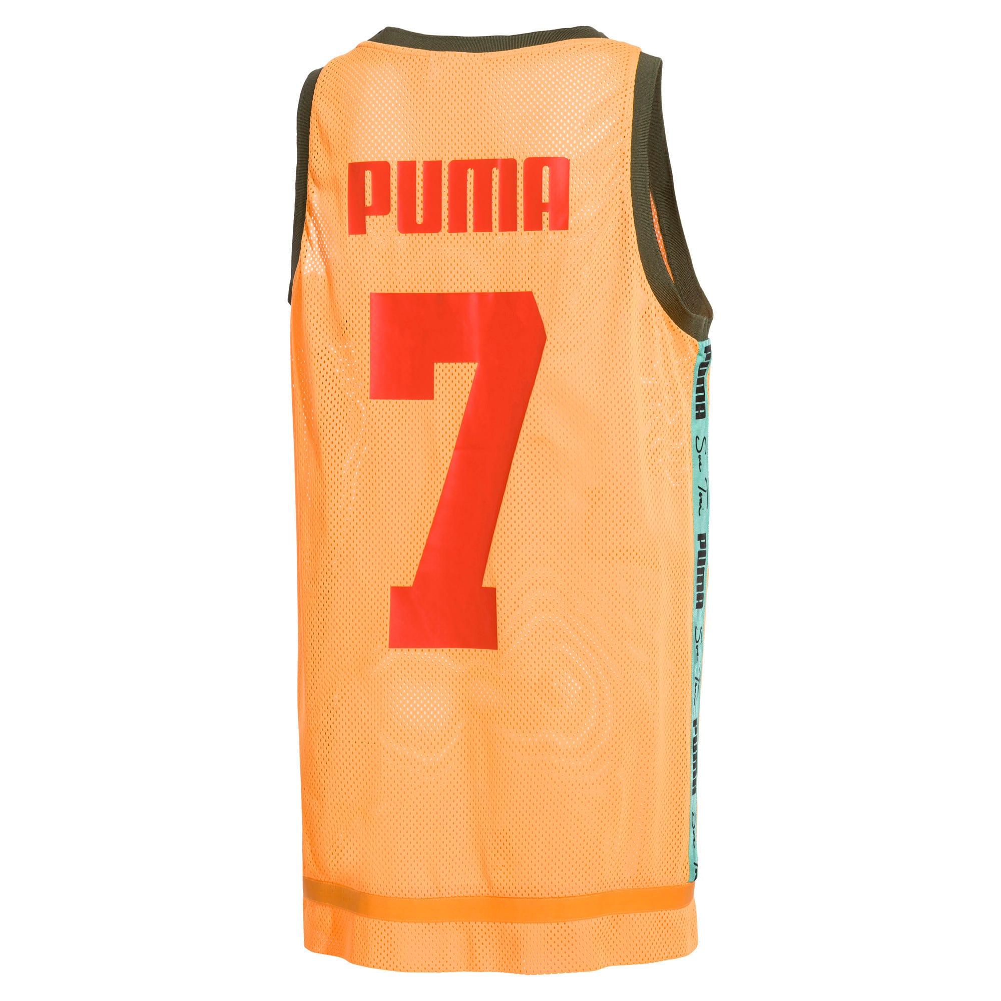 Thumbnail 4 of PUMA x SUE TSAI Women's Dress, Orange Pop, medium