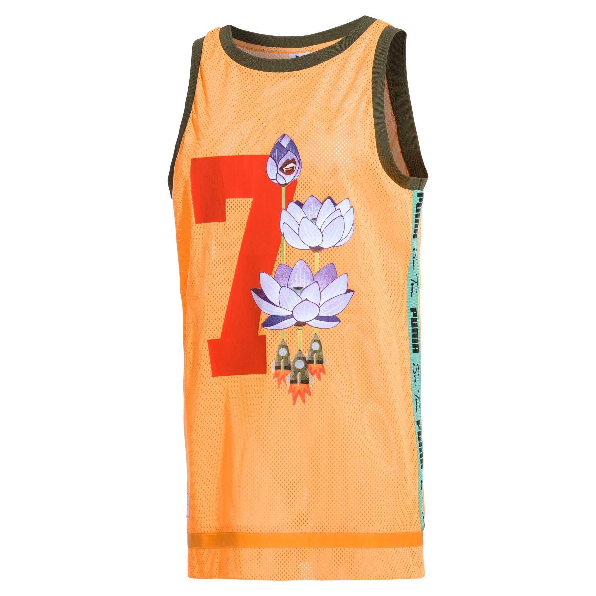 Thumbnail 1 of PUMA x SUE TSAI Women's Dress, Orange Pop, medium