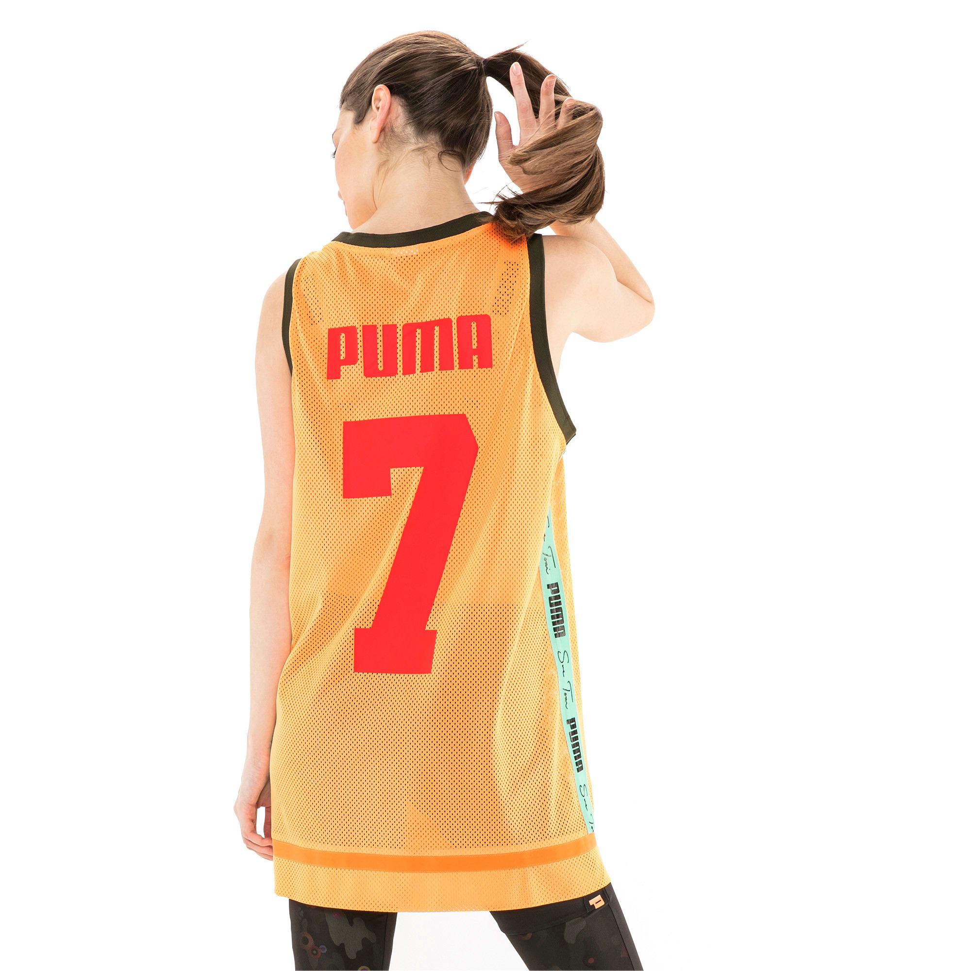 Thumbnail 6 of PUMA x SUE TSAI Women's Dress, Orange Pop, medium