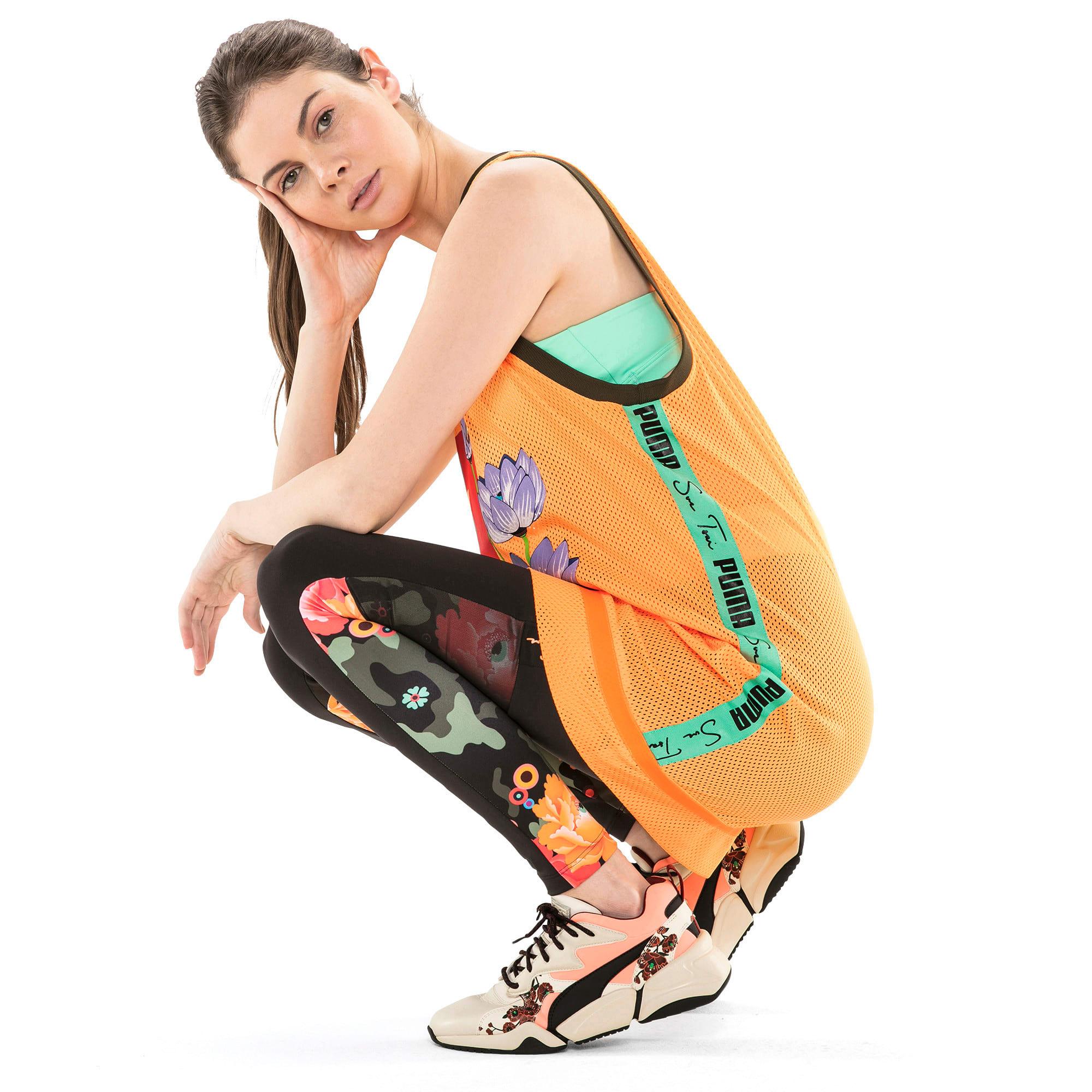 Thumbnail 3 of PUMA x SUE TSAI Women's Dress, Orange Pop, medium