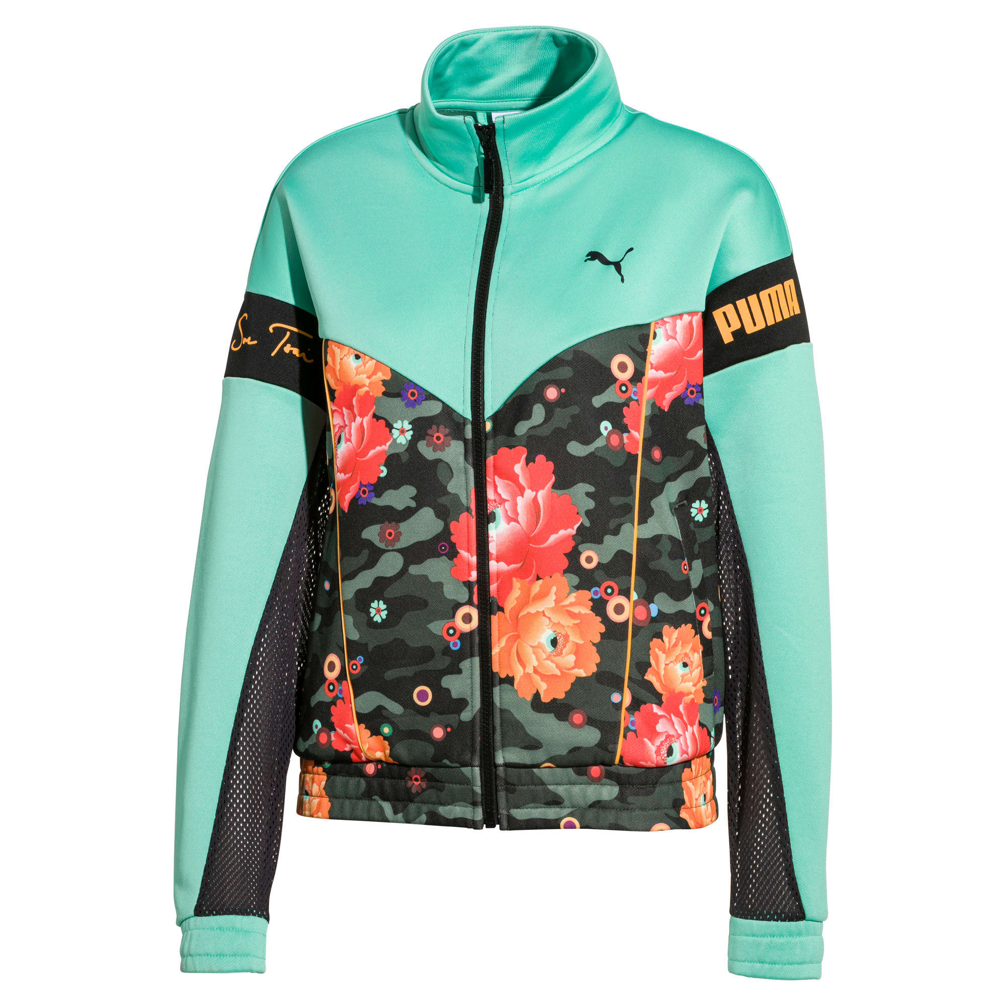 Thumbnail 1 of PUMA x SUE TSAI XTG trainingstop, Puma Black-Black- Peony, medium