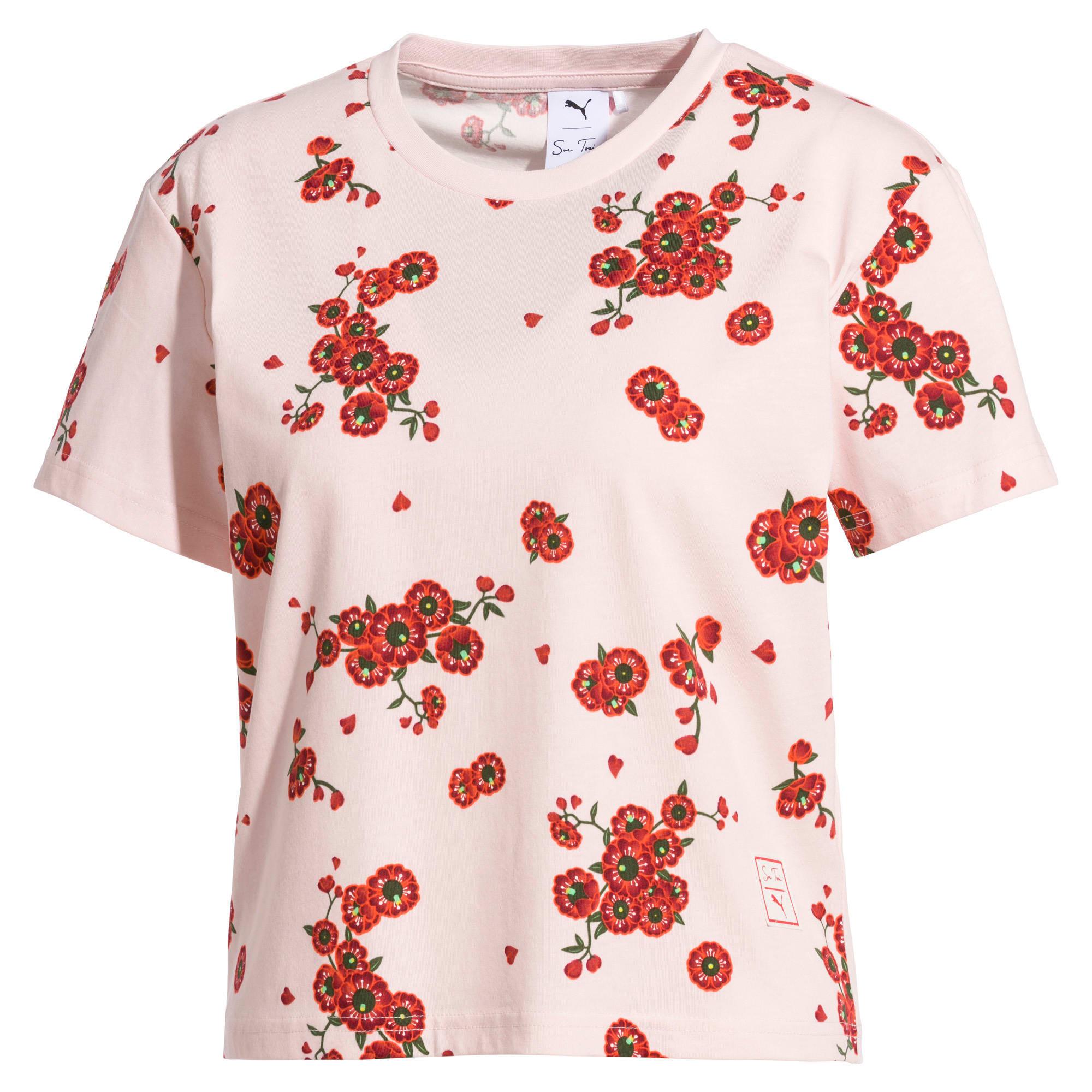 Thumbnail 1 of T-Shirt PUMA x SUE TSAI pour femme, -- Cherry Blossom AOP, medium