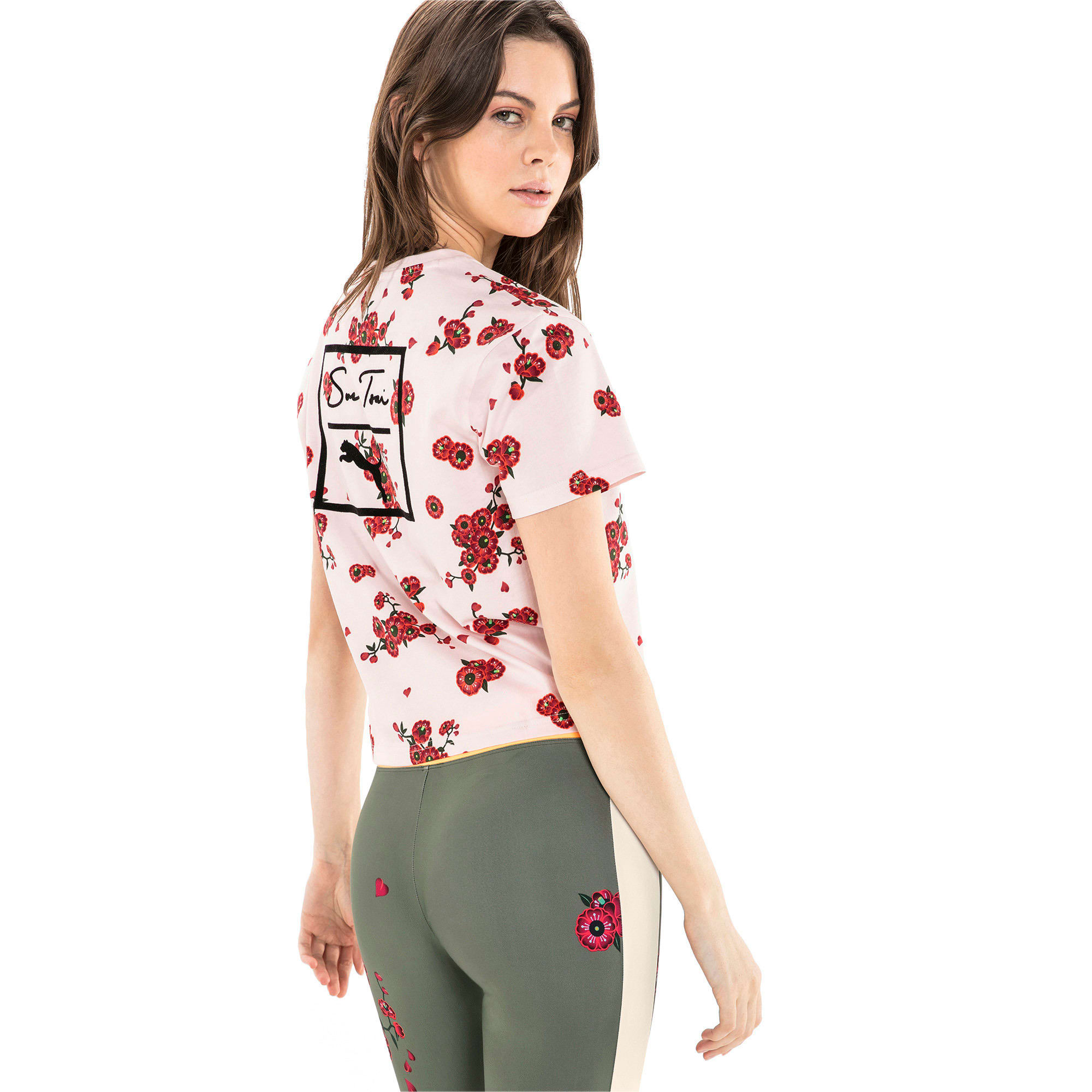 Thumbnail 5 of PUMA x SUE TSAI ウィメンズ  Tシャツ, -- Cherry Blossom AOP, medium-JPN